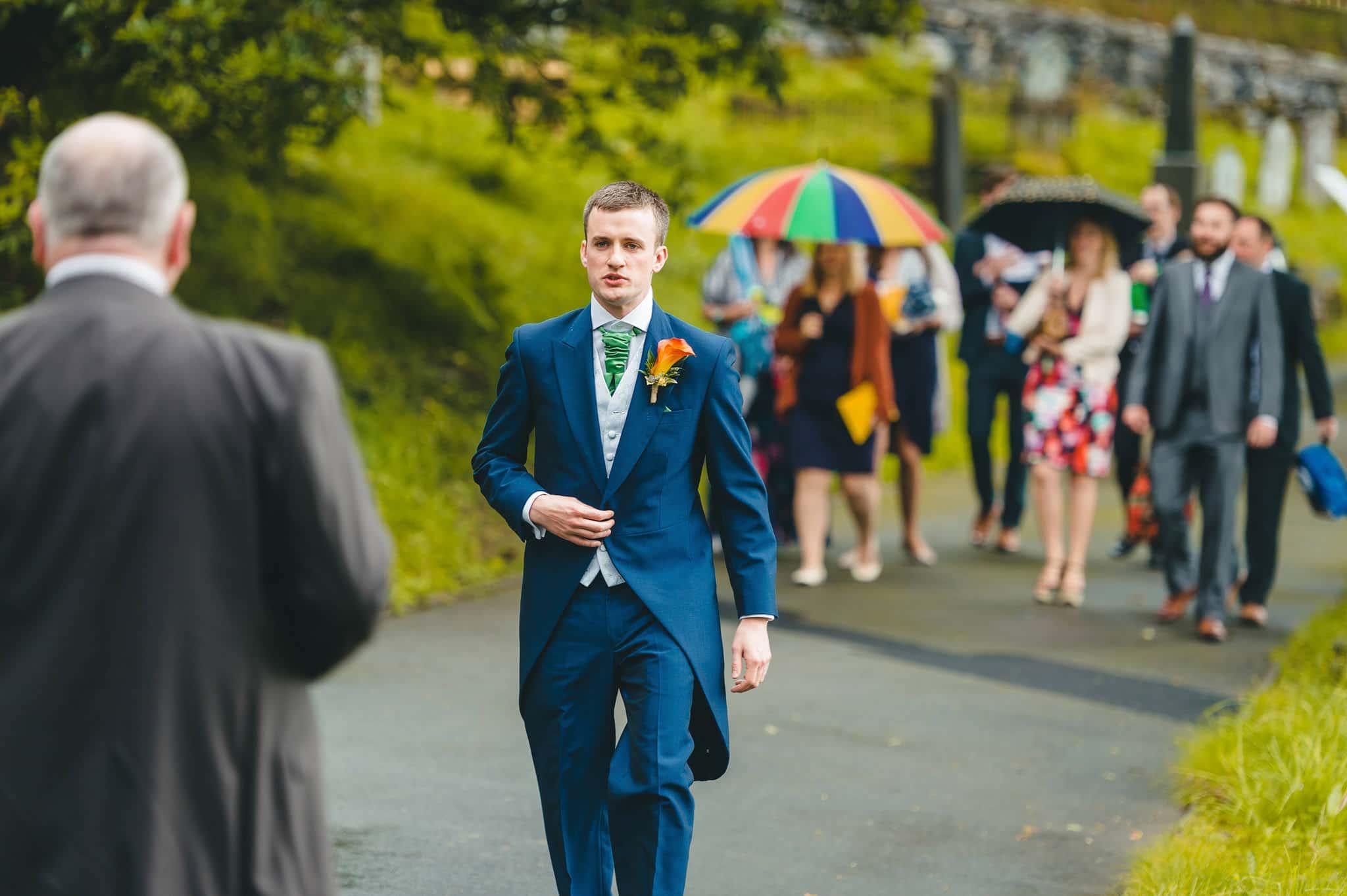 Wedding photography at Y Talbot Hotel in Tregaron, Wales   Tina + Phil 14
