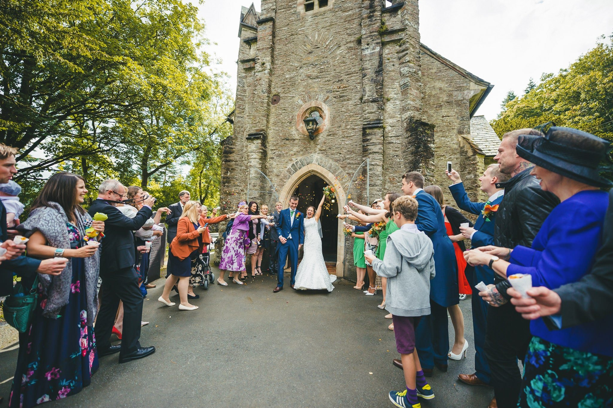 Wedding photography at Y Talbot Hotel in Tregaron, Wales   Tina + Phil 28