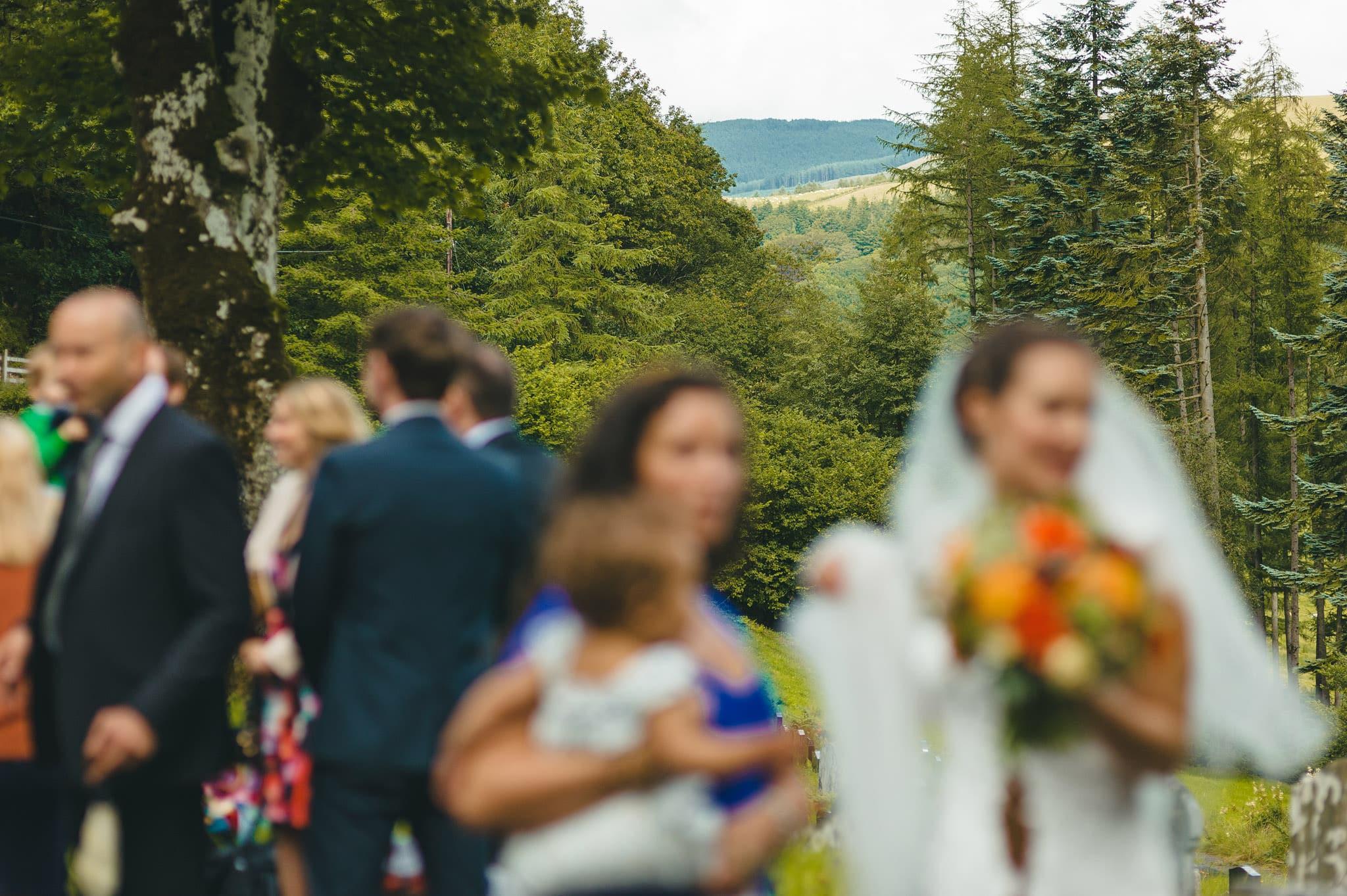 Wedding photography at Y Talbot Hotel in Tregaron, Wales   Tina + Phil 30