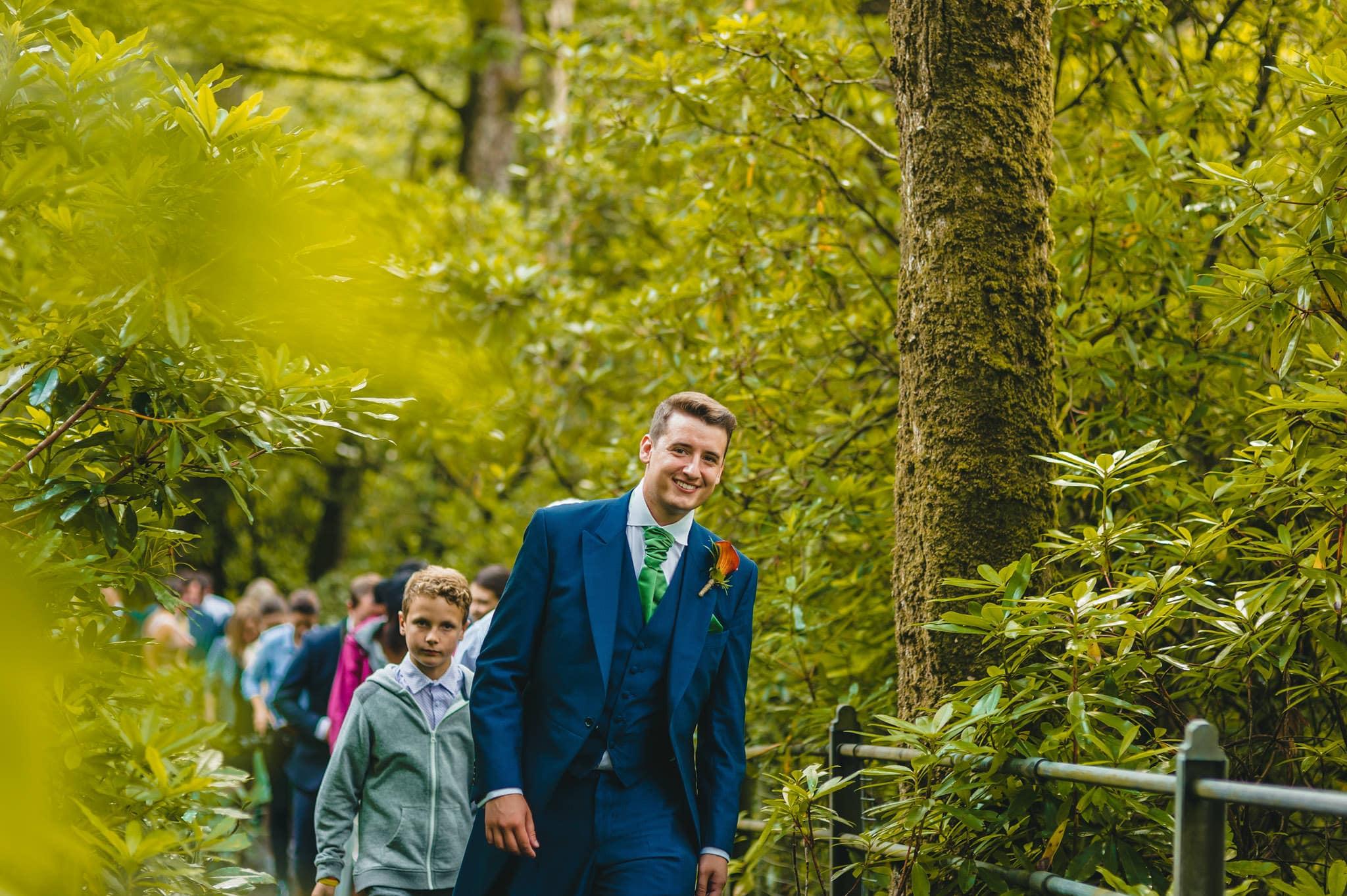 Wedding photography at Y Talbot Hotel in Tregaron, Wales   Tina + Phil 37