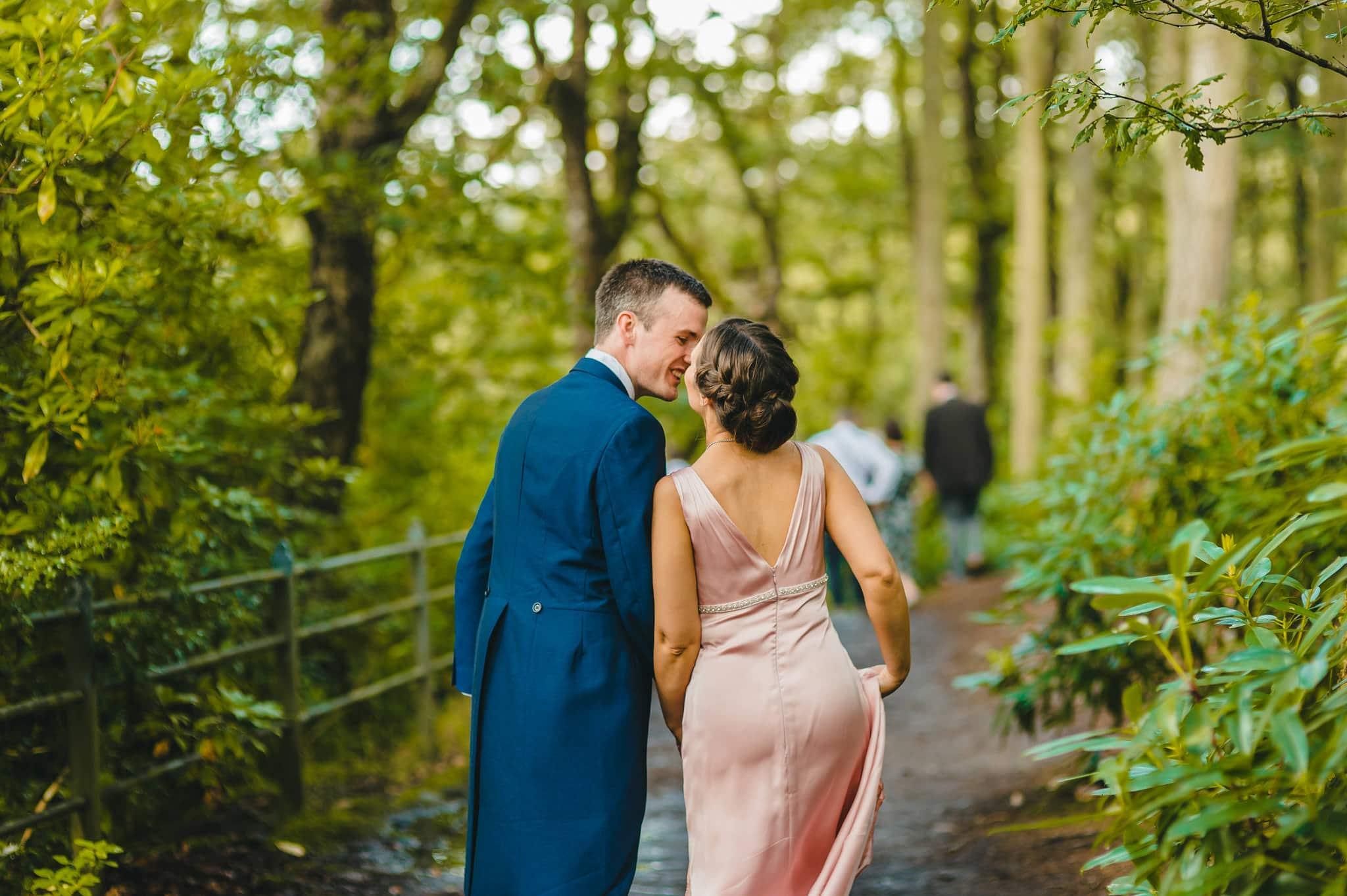 Wedding photography at Y Talbot Hotel in Tregaron, Wales   Tina + Phil 38