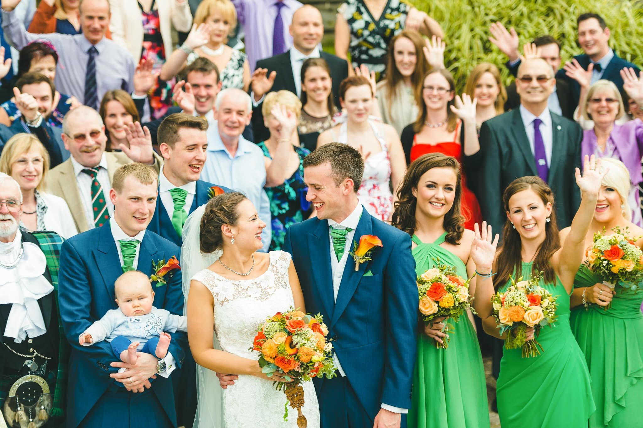 Wedding photography at Y Talbot Hotel in Tregaron, Wales   Tina + Phil 56