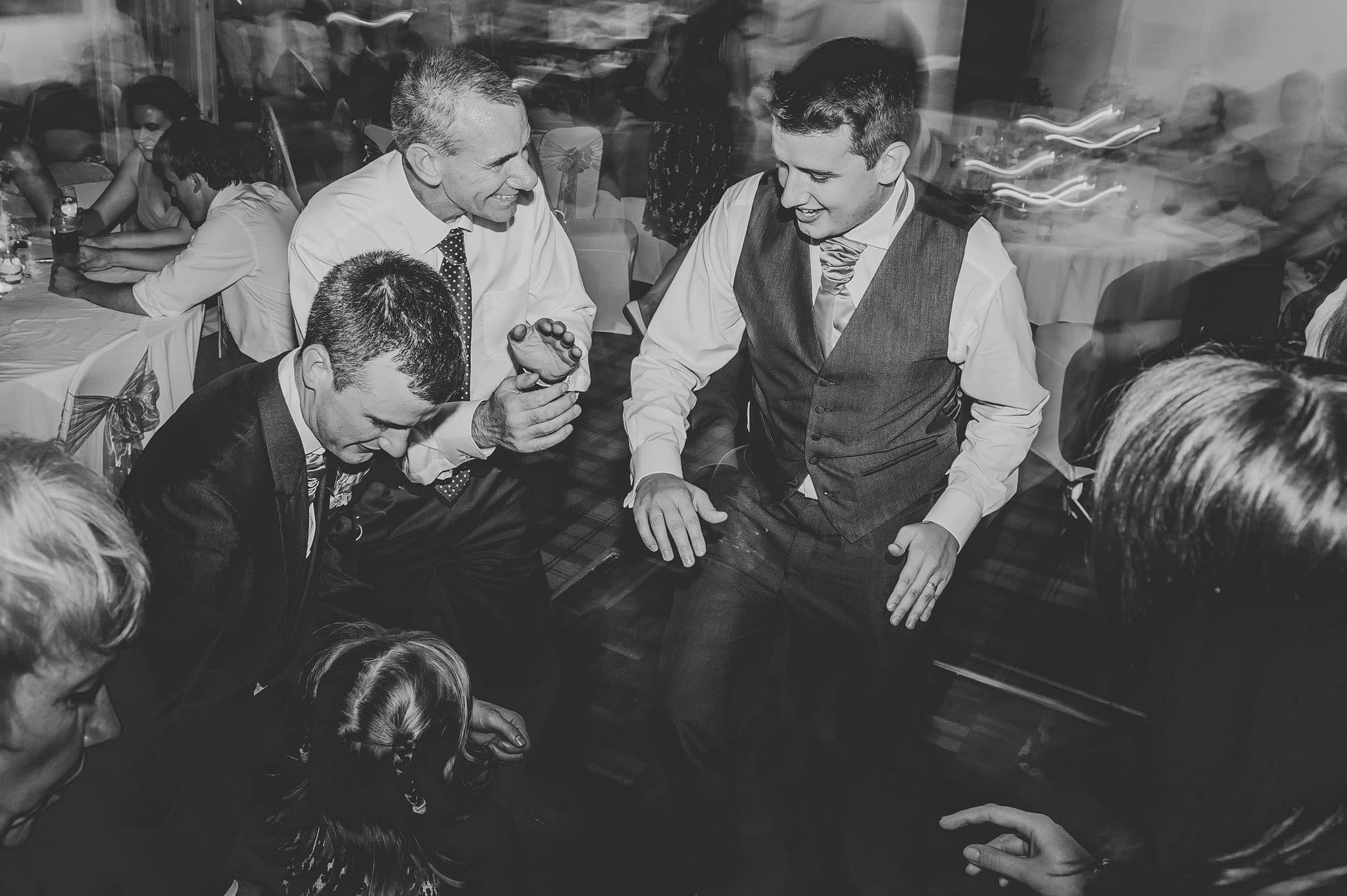 Wedding photography at Y Talbot Hotel in Tregaron, Wales   Tina + Phil 65