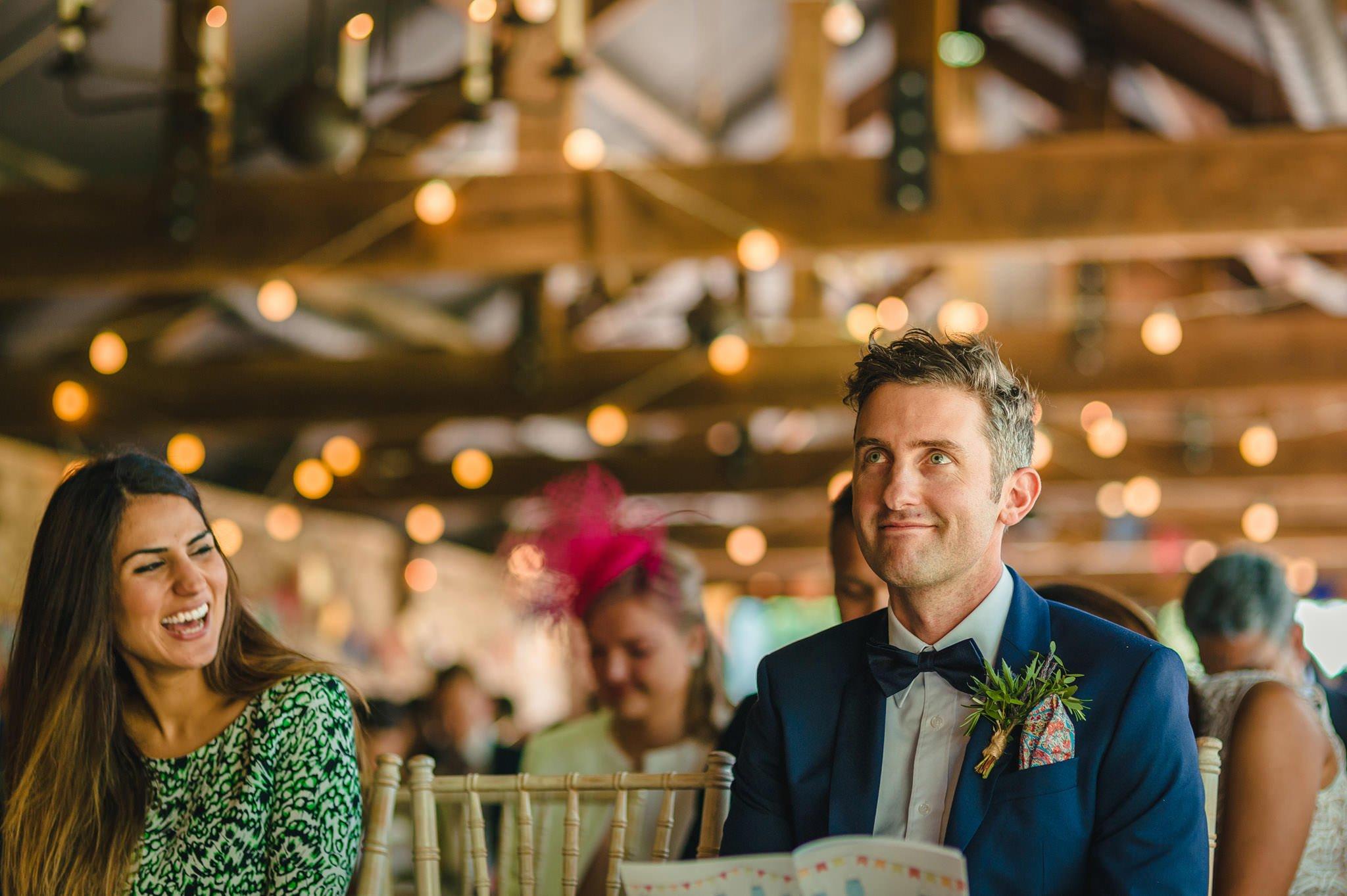 Tom + Shadi   Dewsall Court Wedding 90