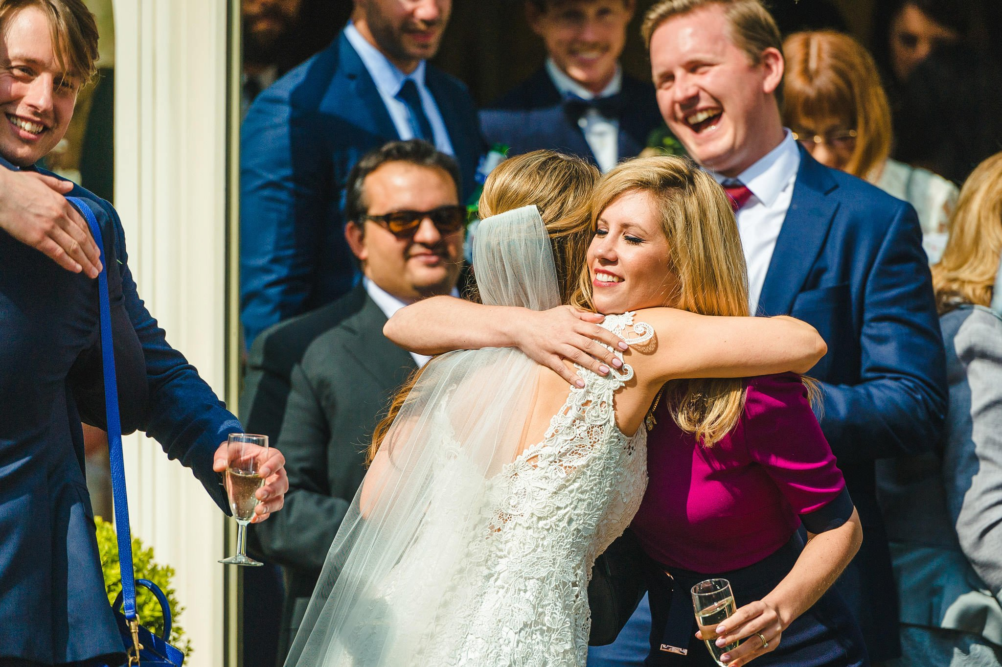 Tom + Shadi   Dewsall Court Wedding 108