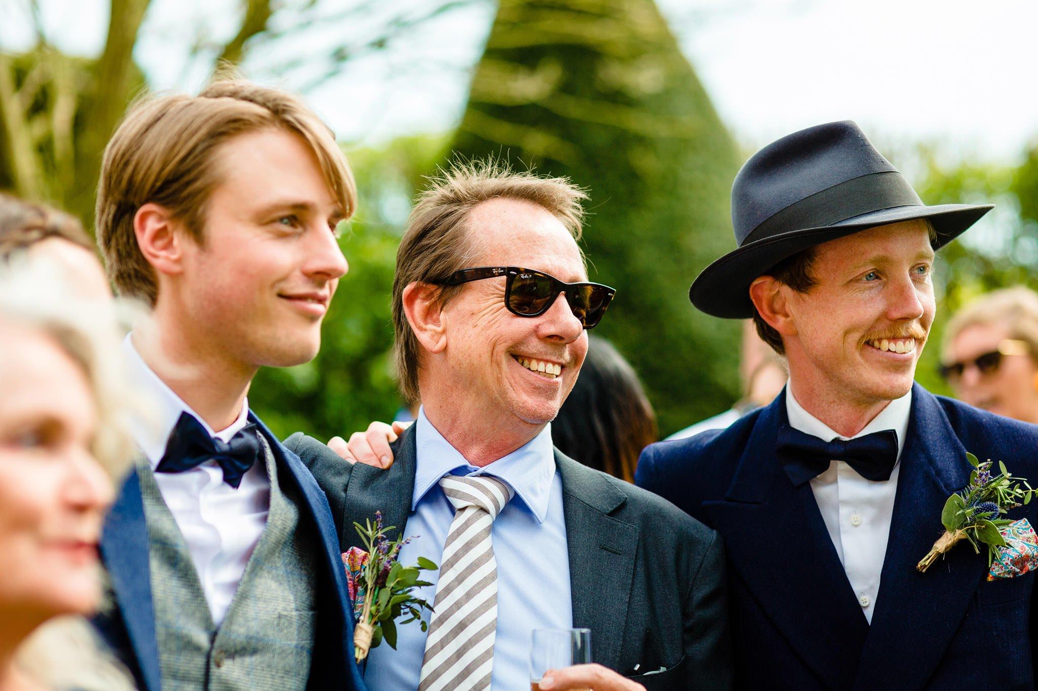 Tom + Shadi   Dewsall Court Wedding 119