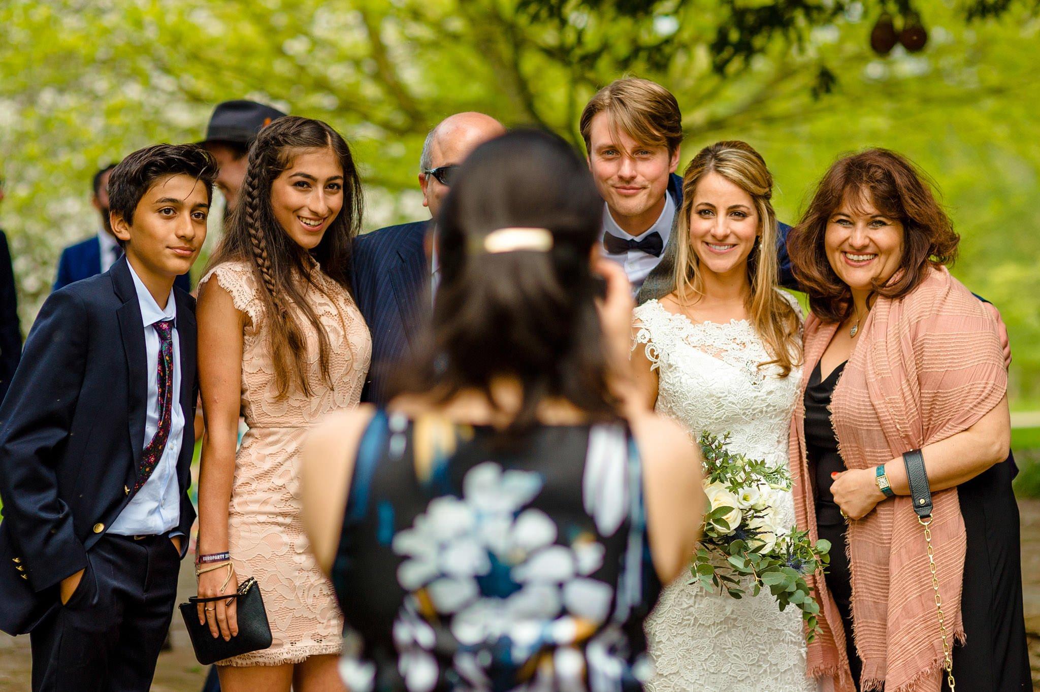 Tom + Shadi   Dewsall Court Wedding 122