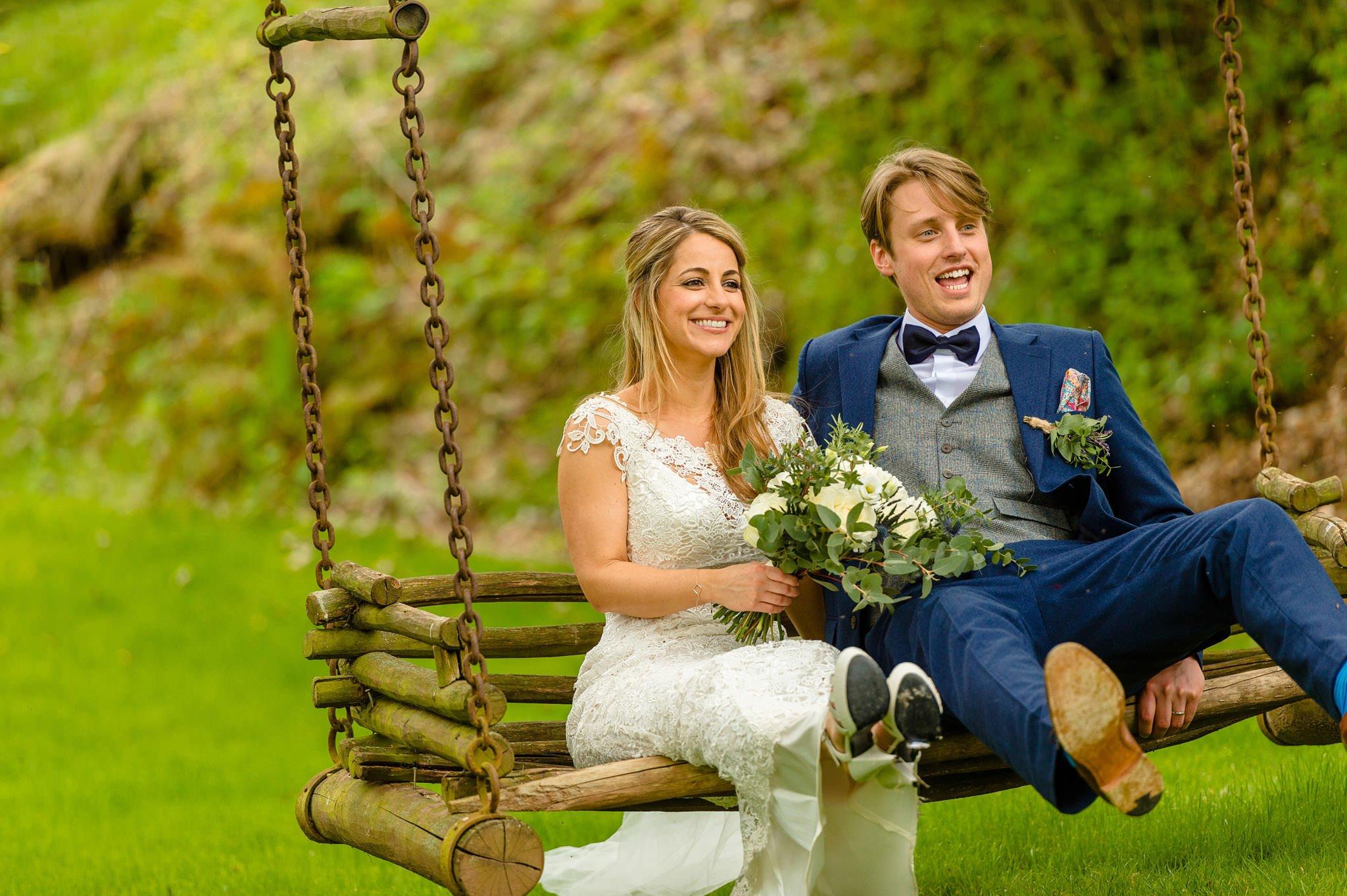 Tom + Shadi   Dewsall Court Wedding 137