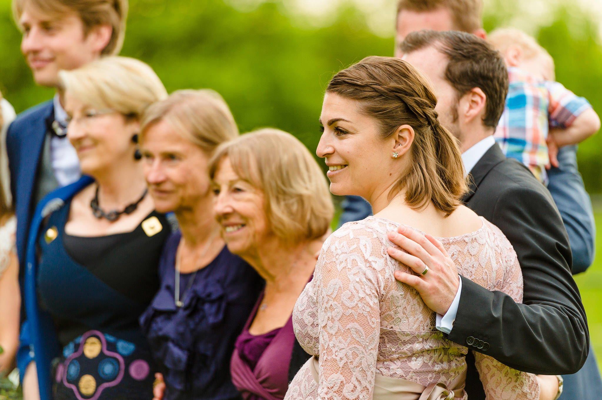 Tom + Shadi   Dewsall Court Wedding 129