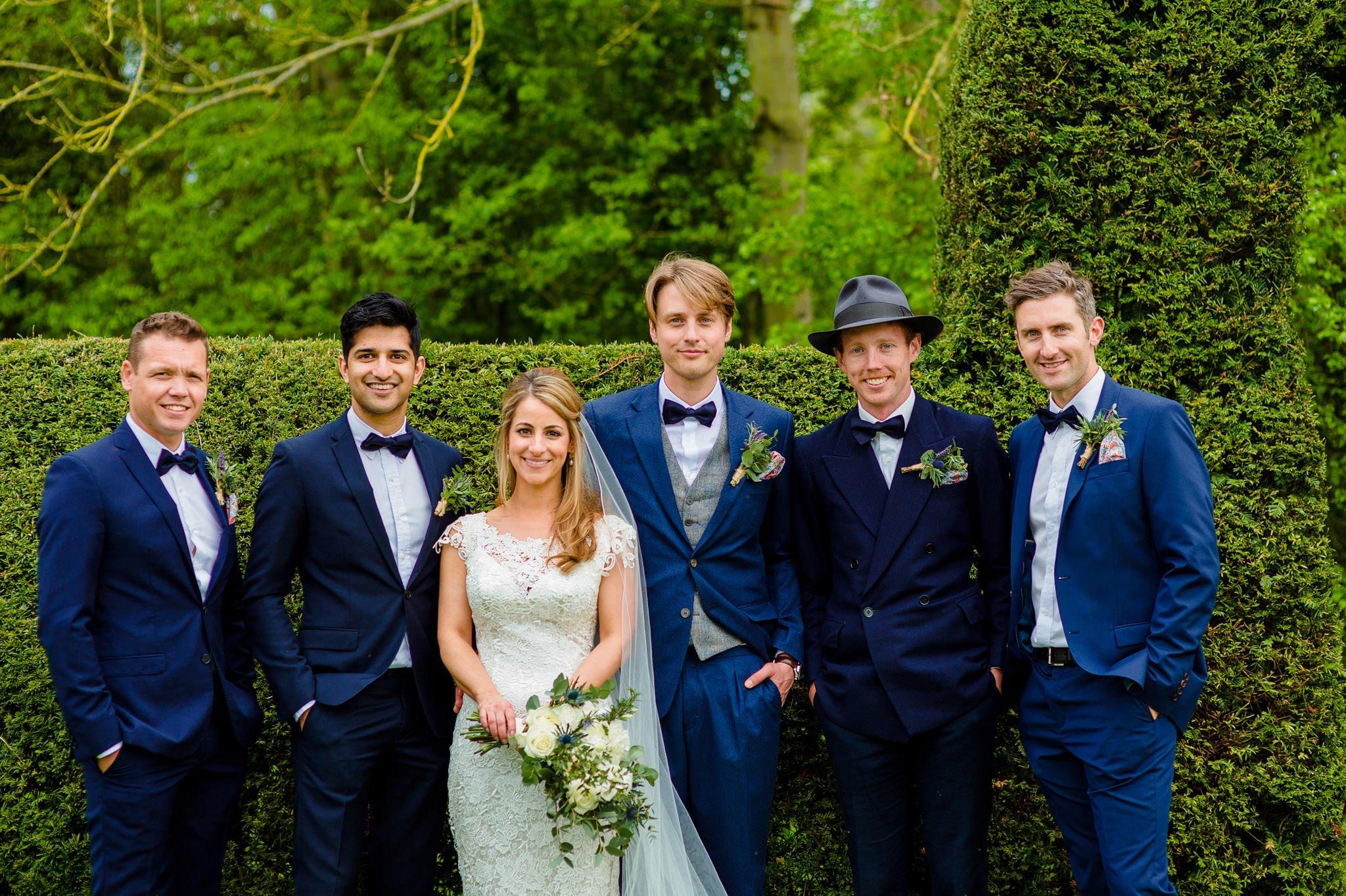 Tom + Shadi   Dewsall Court Wedding 140