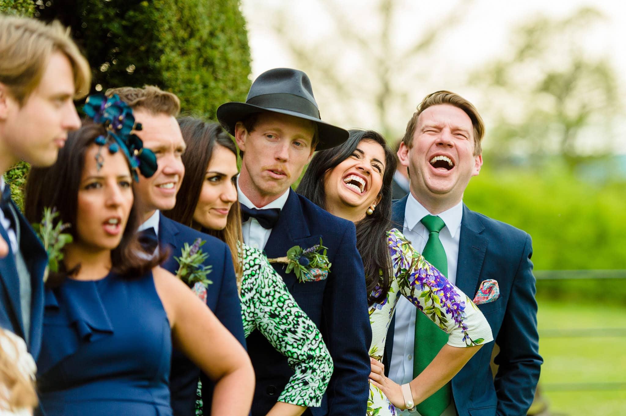 Tom + Shadi   Dewsall Court Wedding 141