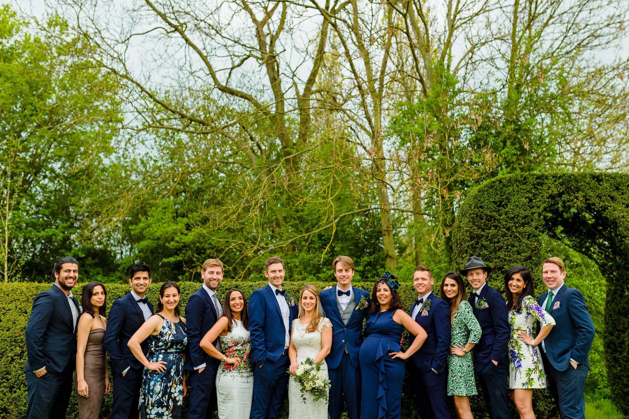 Tom + Shadi   Dewsall Court Wedding 148