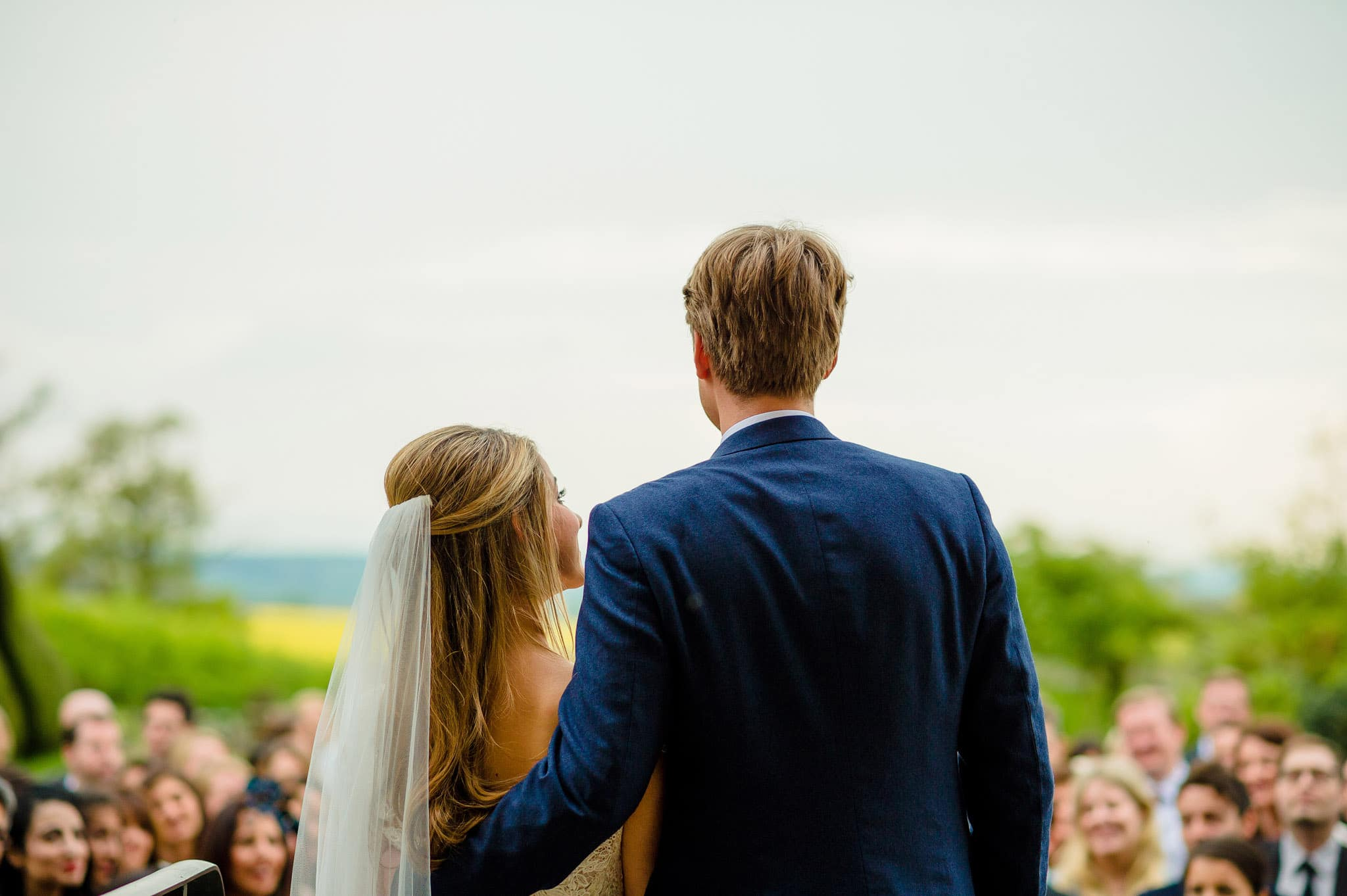 Tom + Shadi   Dewsall Court Wedding 161