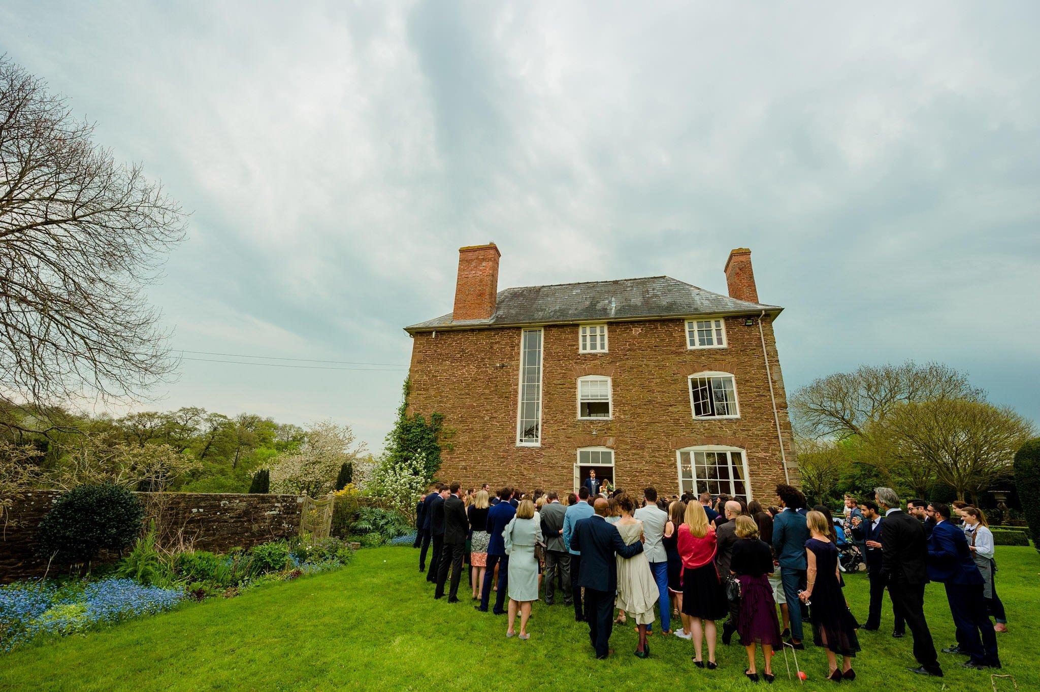 Tom + Shadi   Dewsall Court Wedding 160
