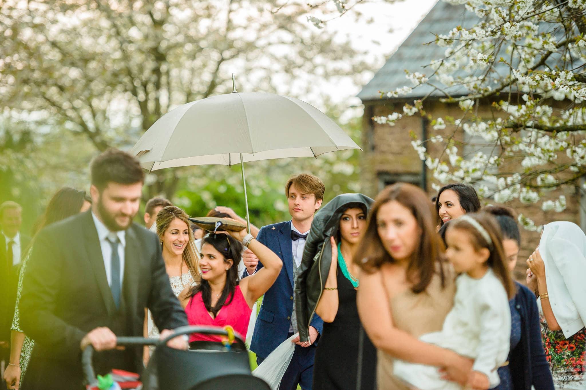 Tom + Shadi   Dewsall Court Wedding 170