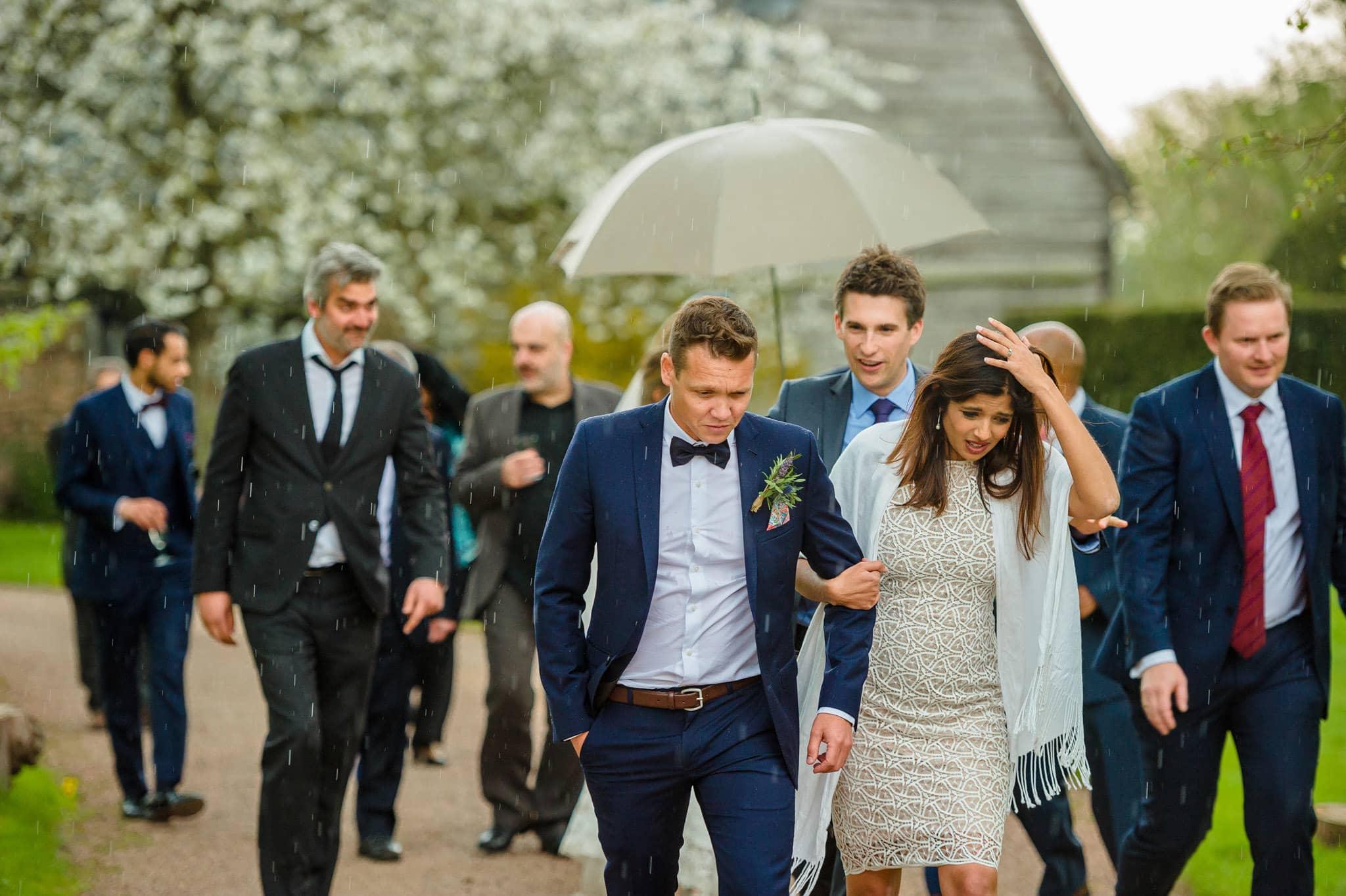 Tom + Shadi   Dewsall Court Wedding 175