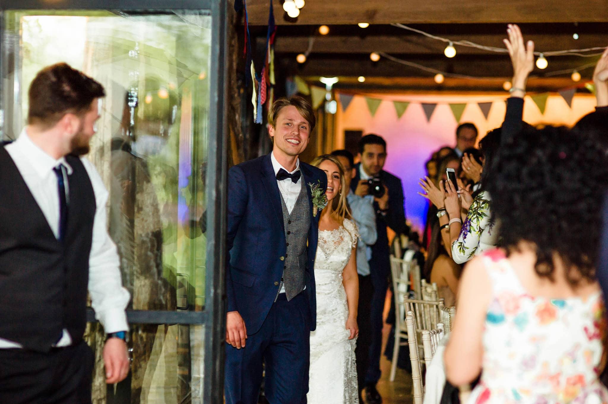 Tom + Shadi   Dewsall Court Wedding 185