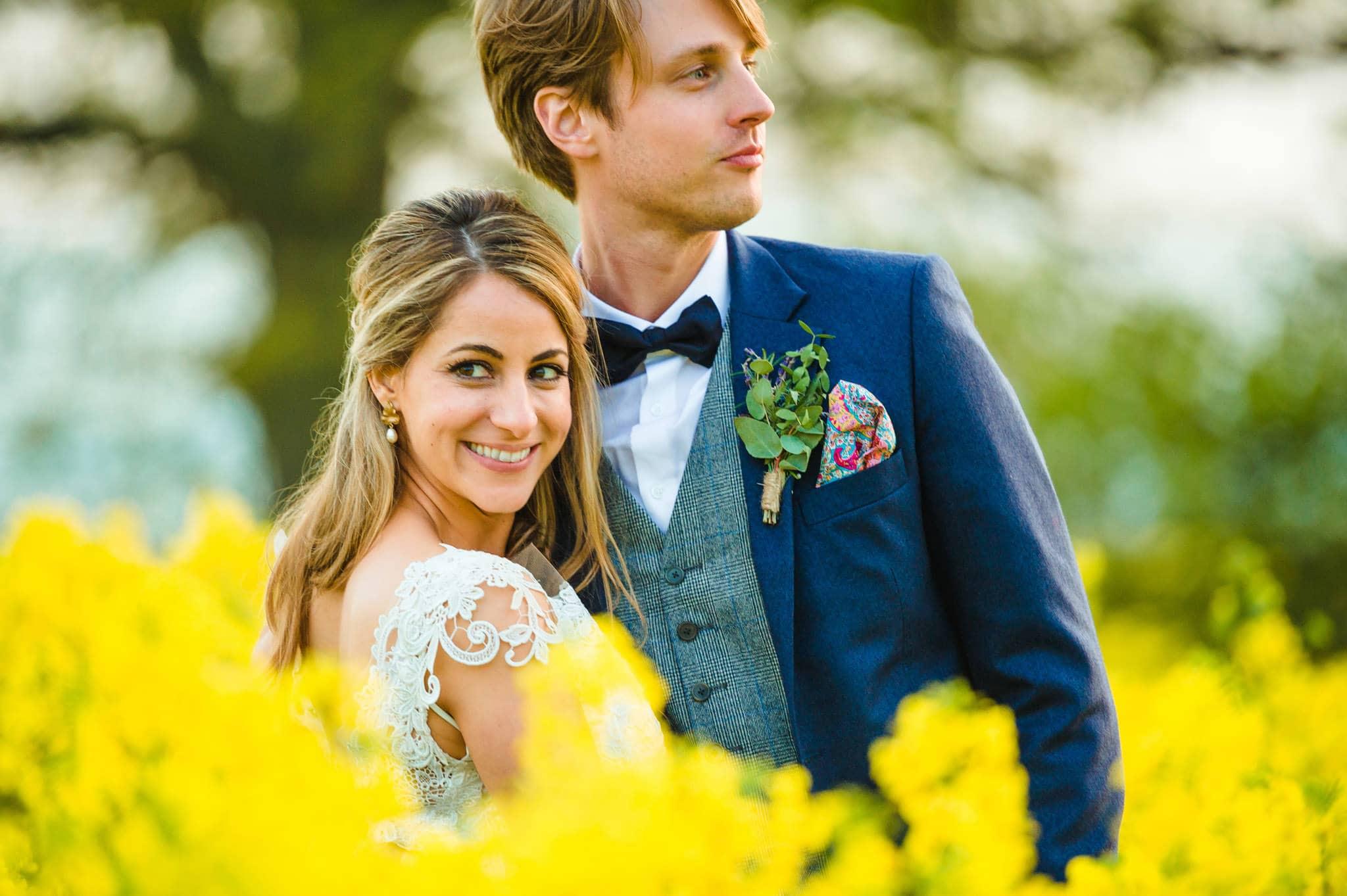 Tom + Shadi   Dewsall Court Wedding 201