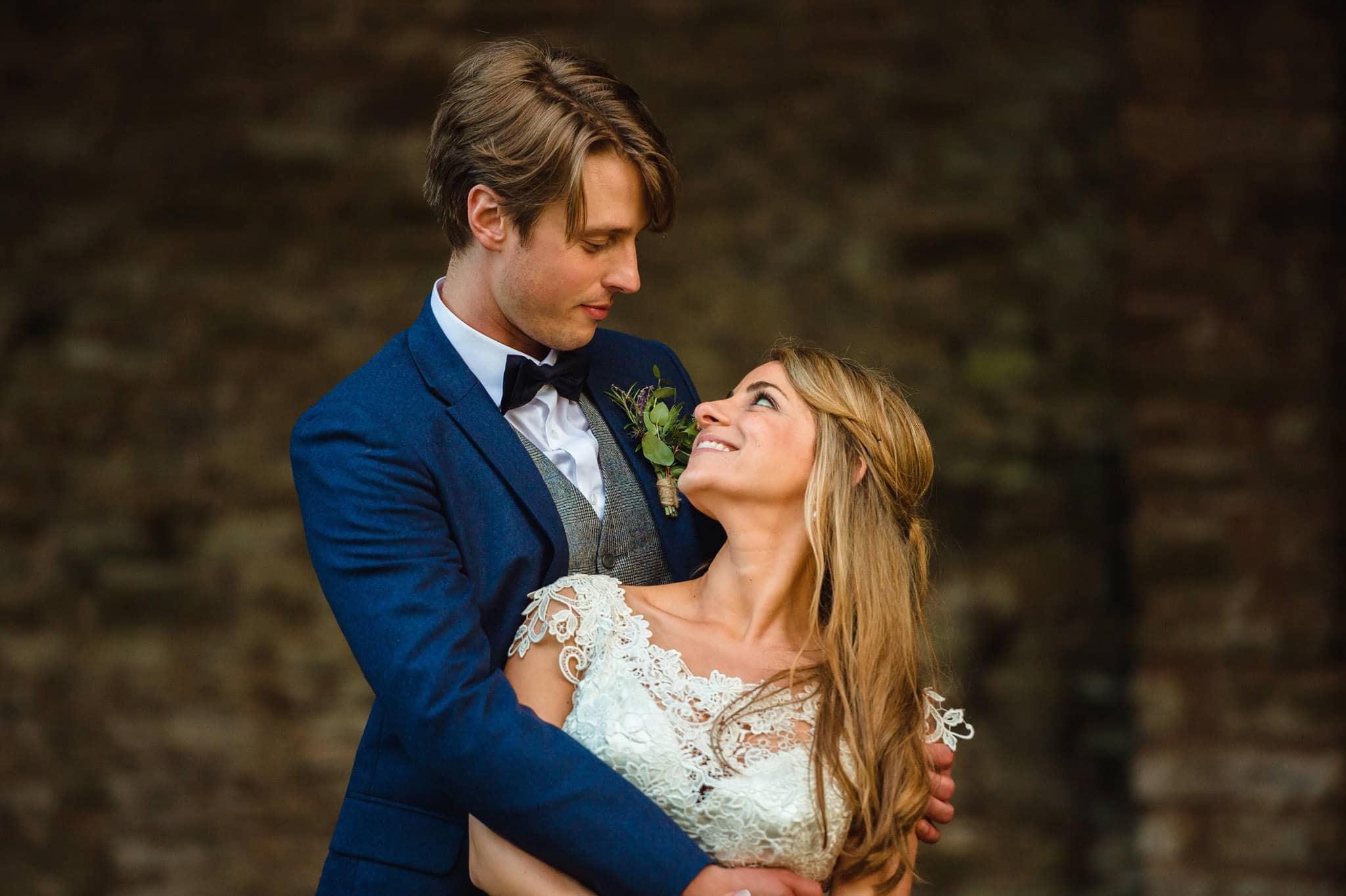 Tom + Shadi   Dewsall Court Wedding 204