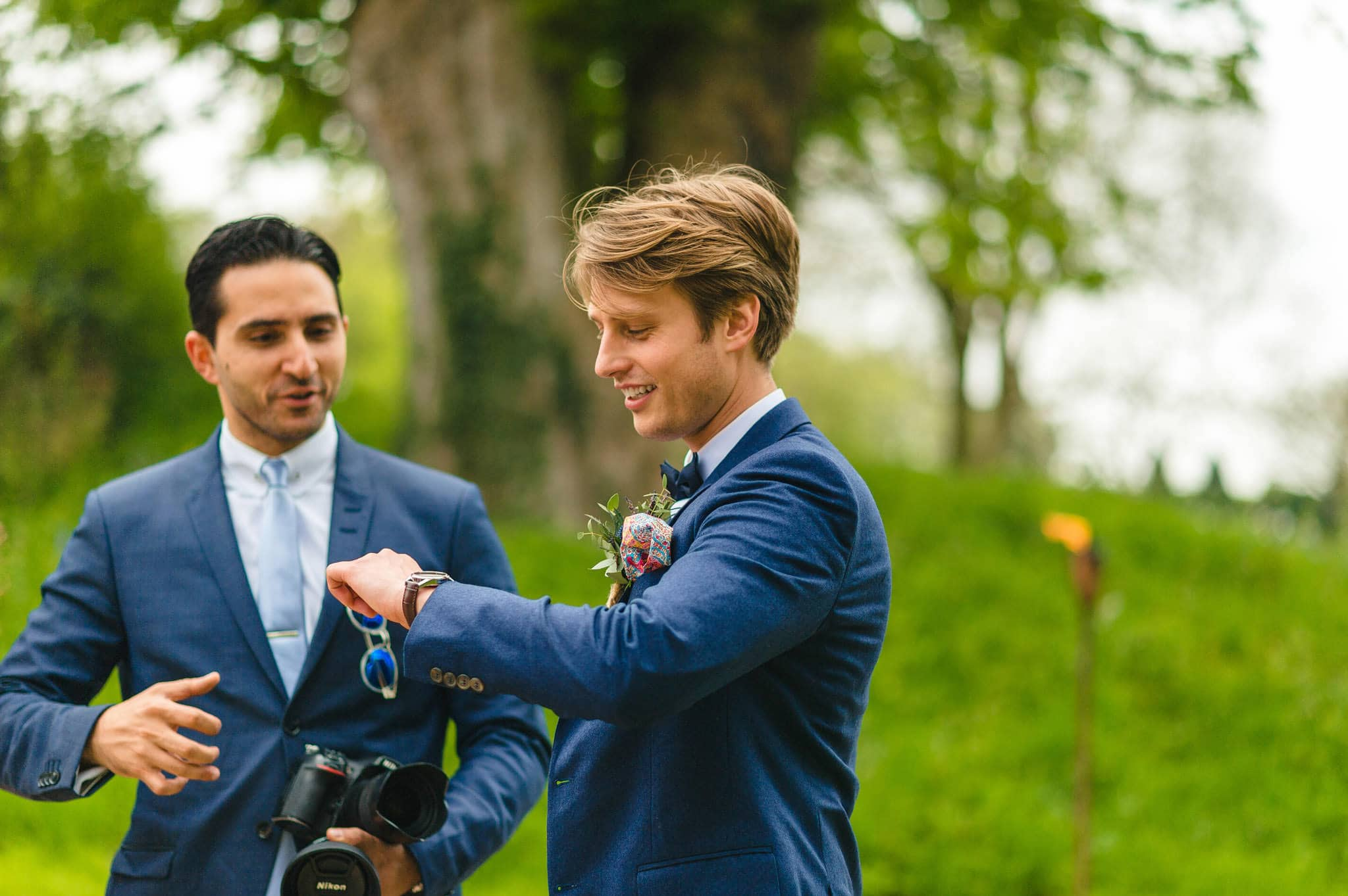 Tom + Shadi   Dewsall Court Wedding 62
