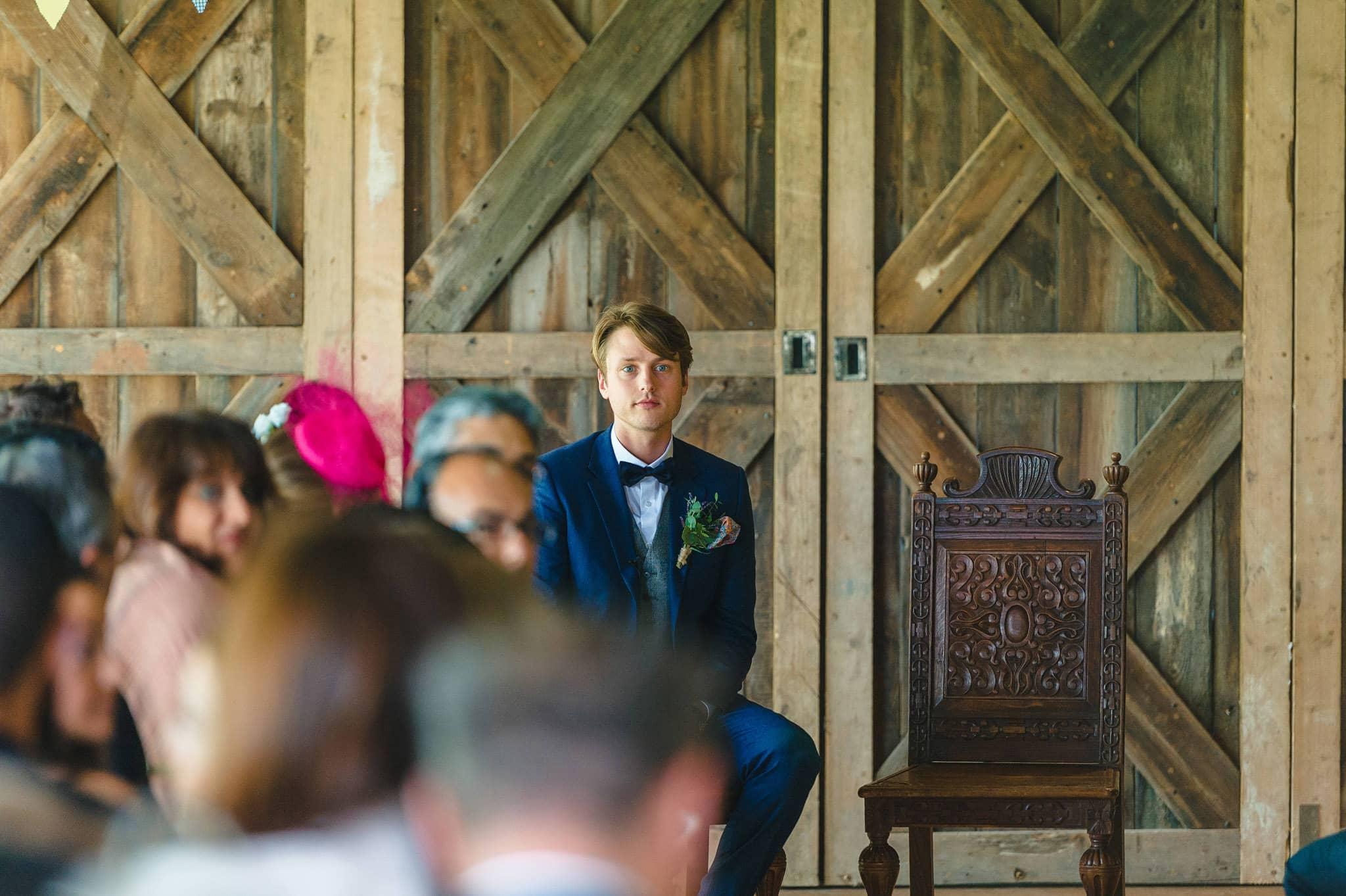 Tom + Shadi   Dewsall Court Wedding 77