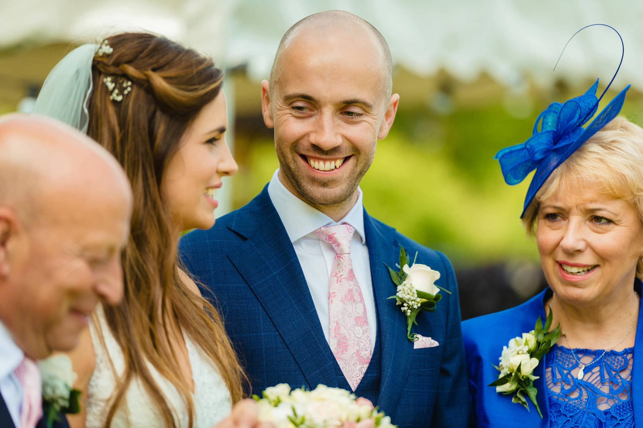 Wedding at Redhouse Barn in Stoke Prior, Worcestershire 104