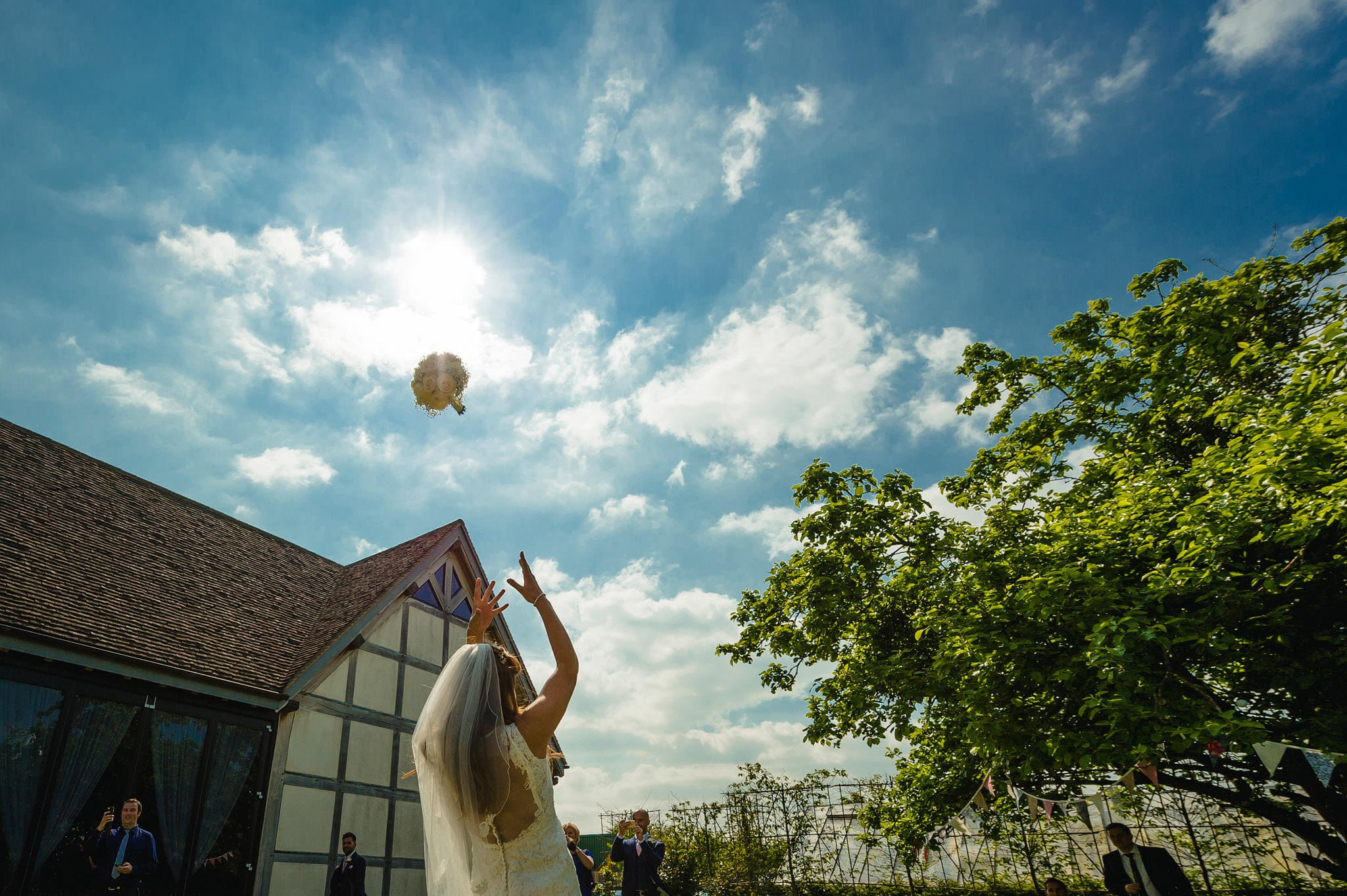 Wedding at Redhouse Barn in Stoke Prior, Worcestershire 120