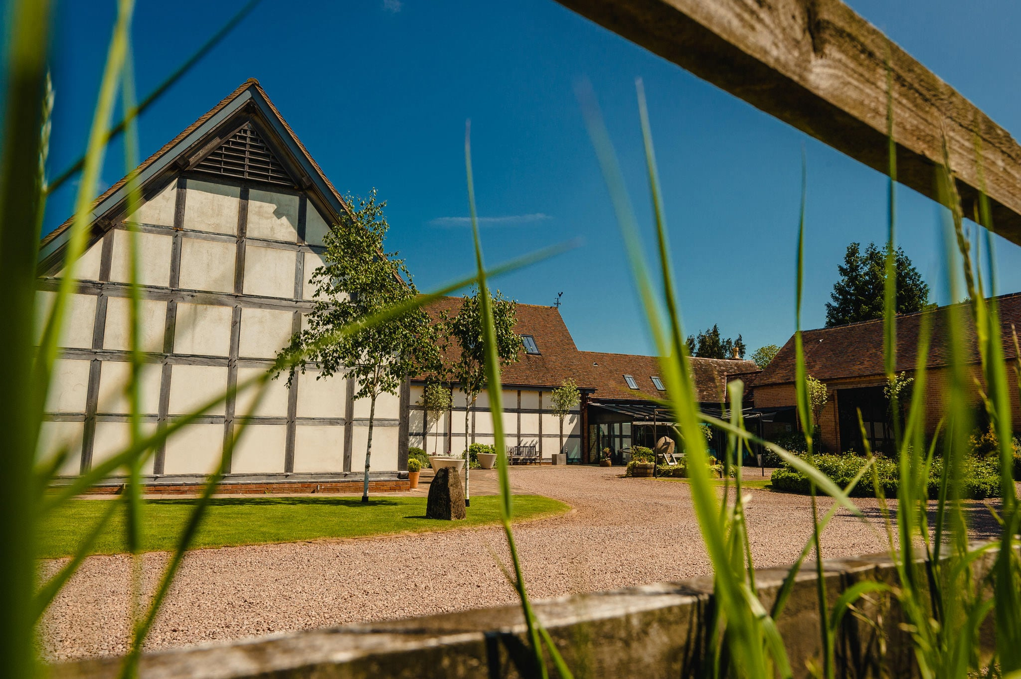 Wedding at Redhouse Barn in Stoke Prior, Worcestershire 1