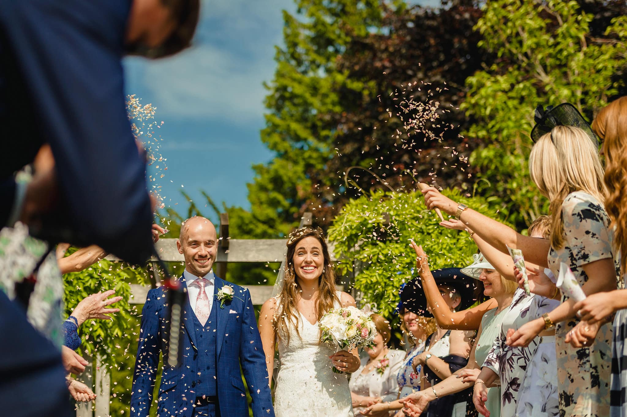 Wedding at Redhouse Barn in Stoke Prior, Worcestershire 72
