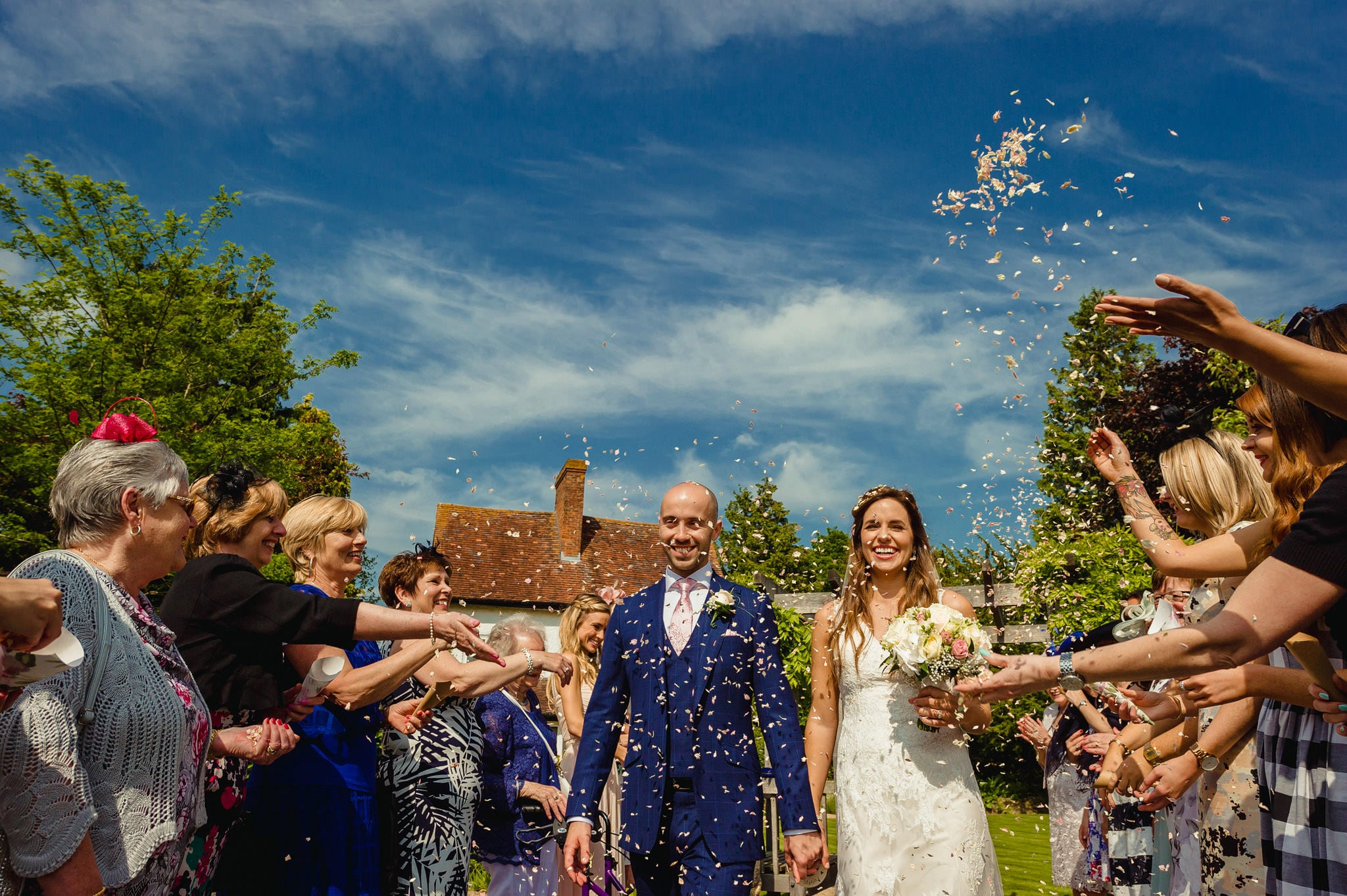 Wedding at Redhouse Barn in Stoke Prior, Worcestershire 73