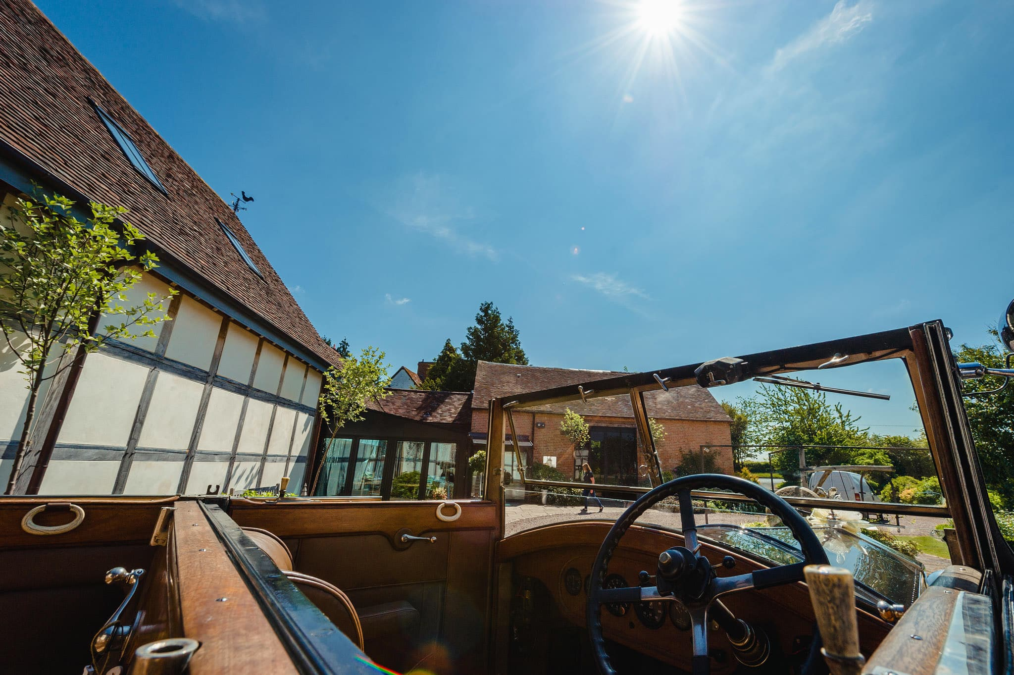 Wedding at Redhouse Barn in Stoke Prior, Worcestershire 14