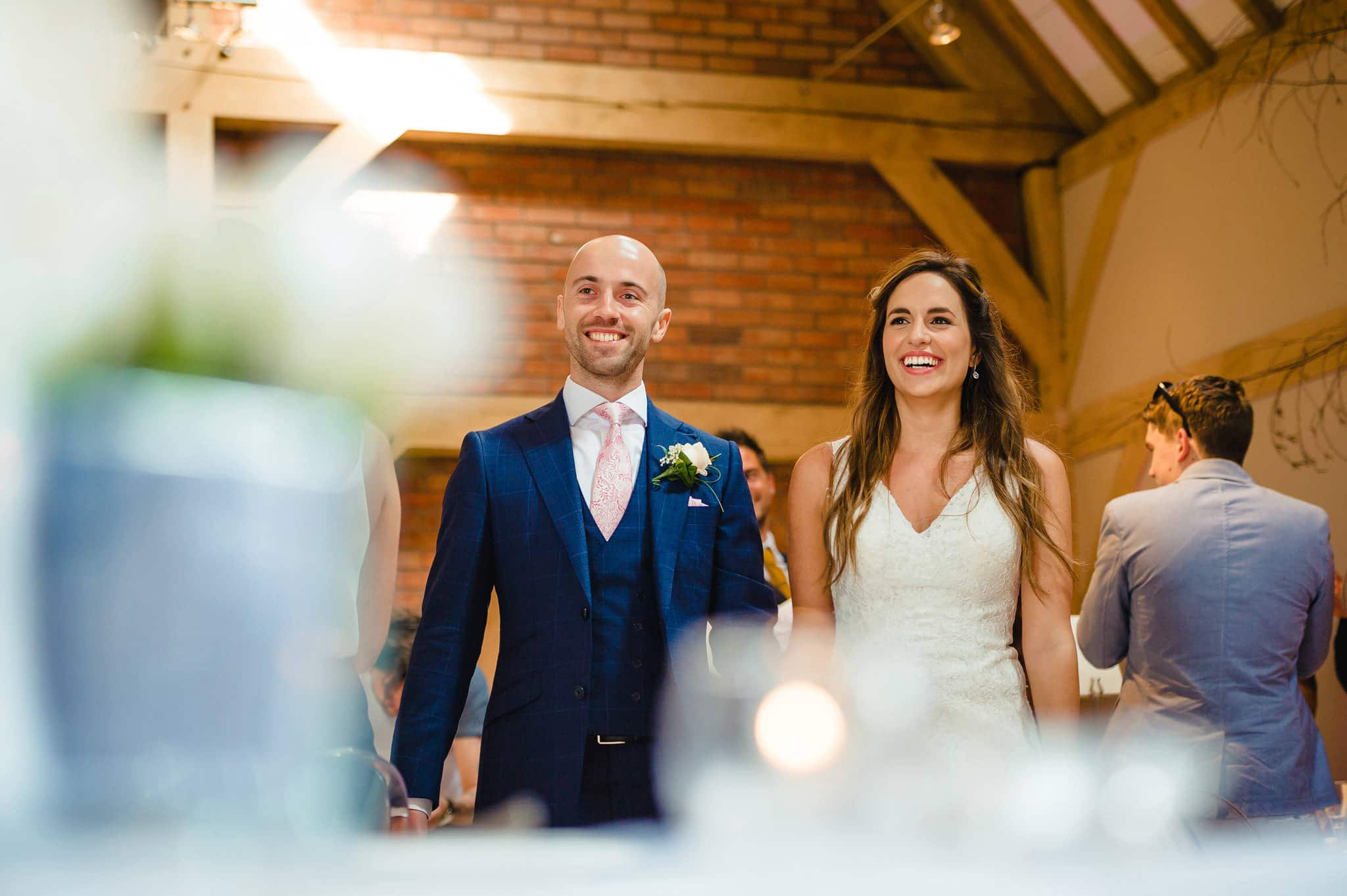 Wedding at Redhouse Barn in Stoke Prior, Worcestershire 129