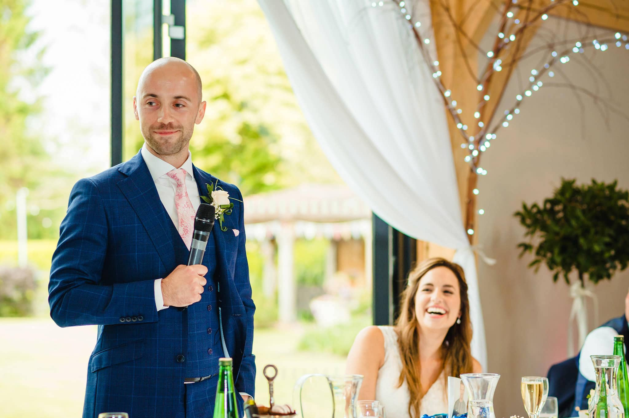 Wedding at Redhouse Barn in Stoke Prior, Worcestershire 137