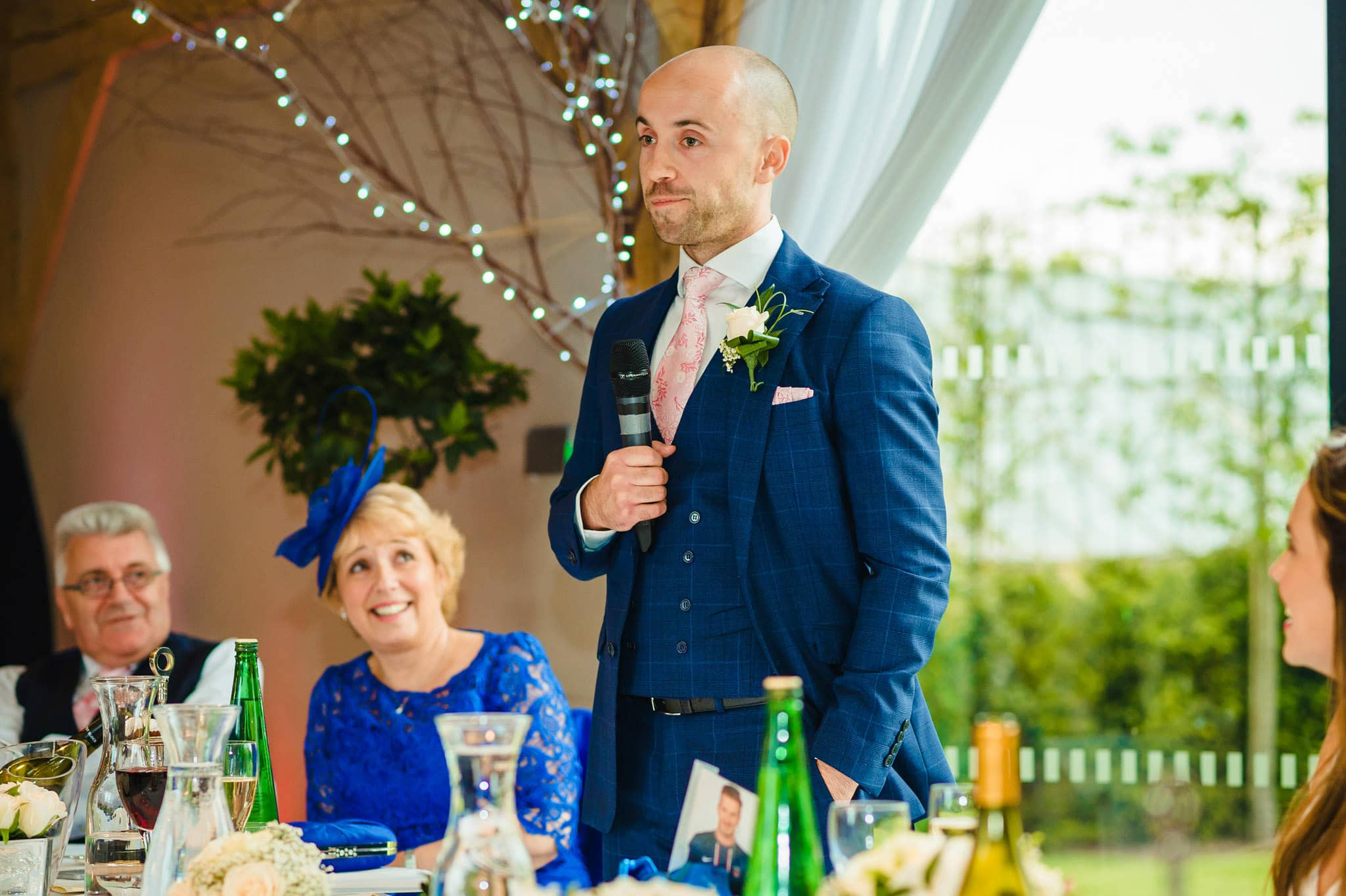 Wedding at Redhouse Barn in Stoke Prior, Worcestershire 142