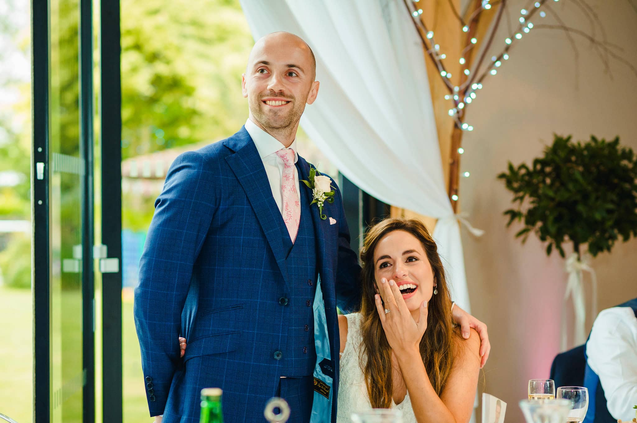 Wedding at Redhouse Barn in Stoke Prior, Worcestershire 150