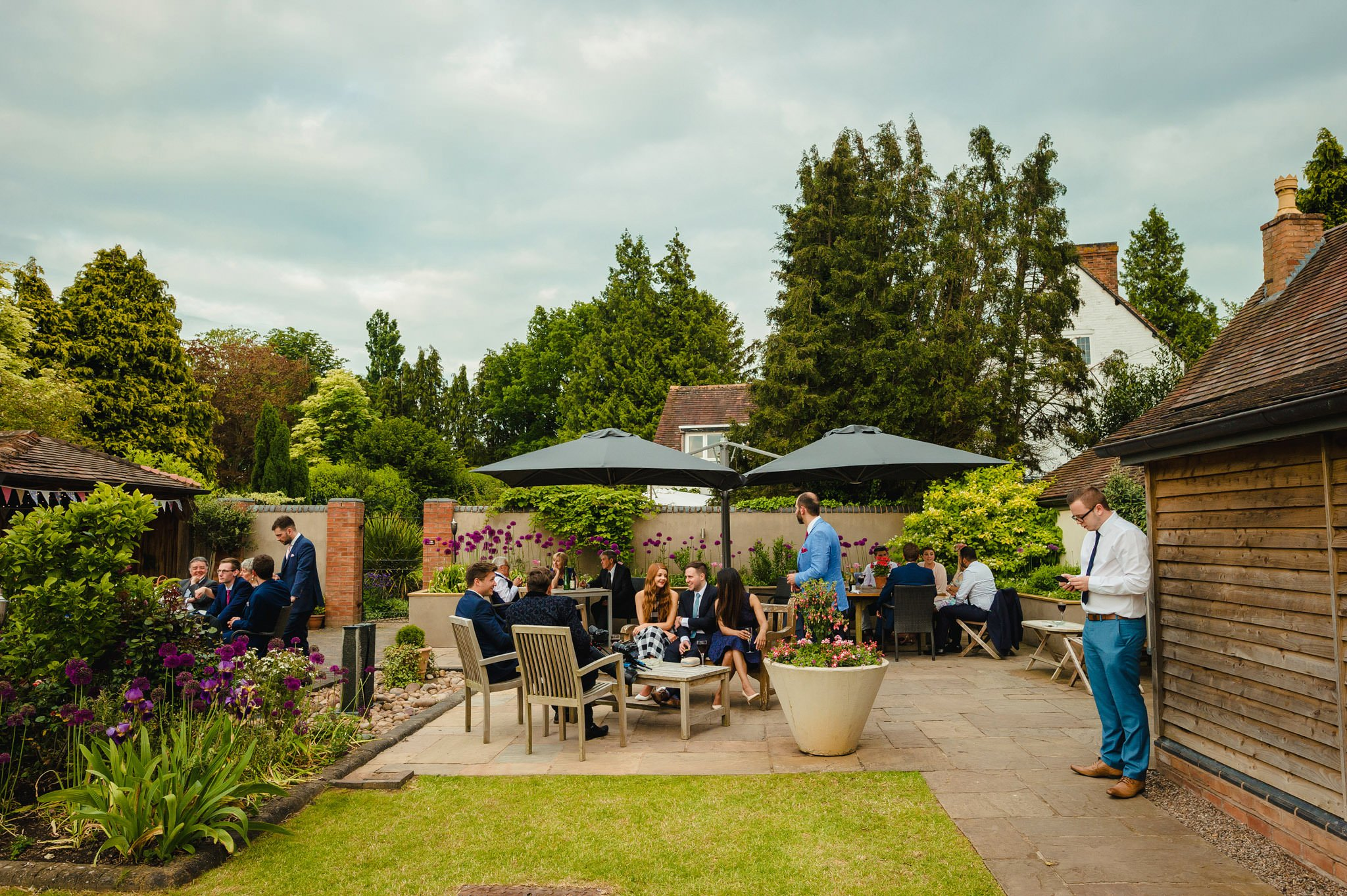 Wedding at Redhouse Barn in Stoke Prior, Worcestershire 154
