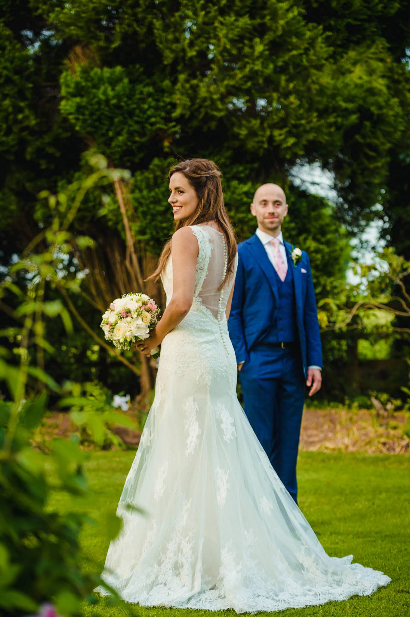 Wedding at Redhouse Barn in Stoke Prior, Worcestershire 186