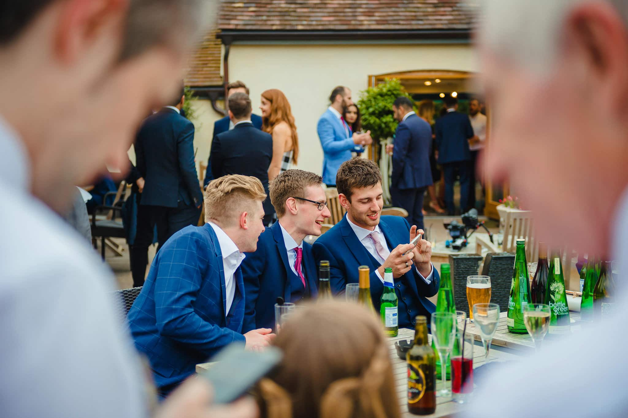 Wedding at Redhouse Barn in Stoke Prior, Worcestershire 180