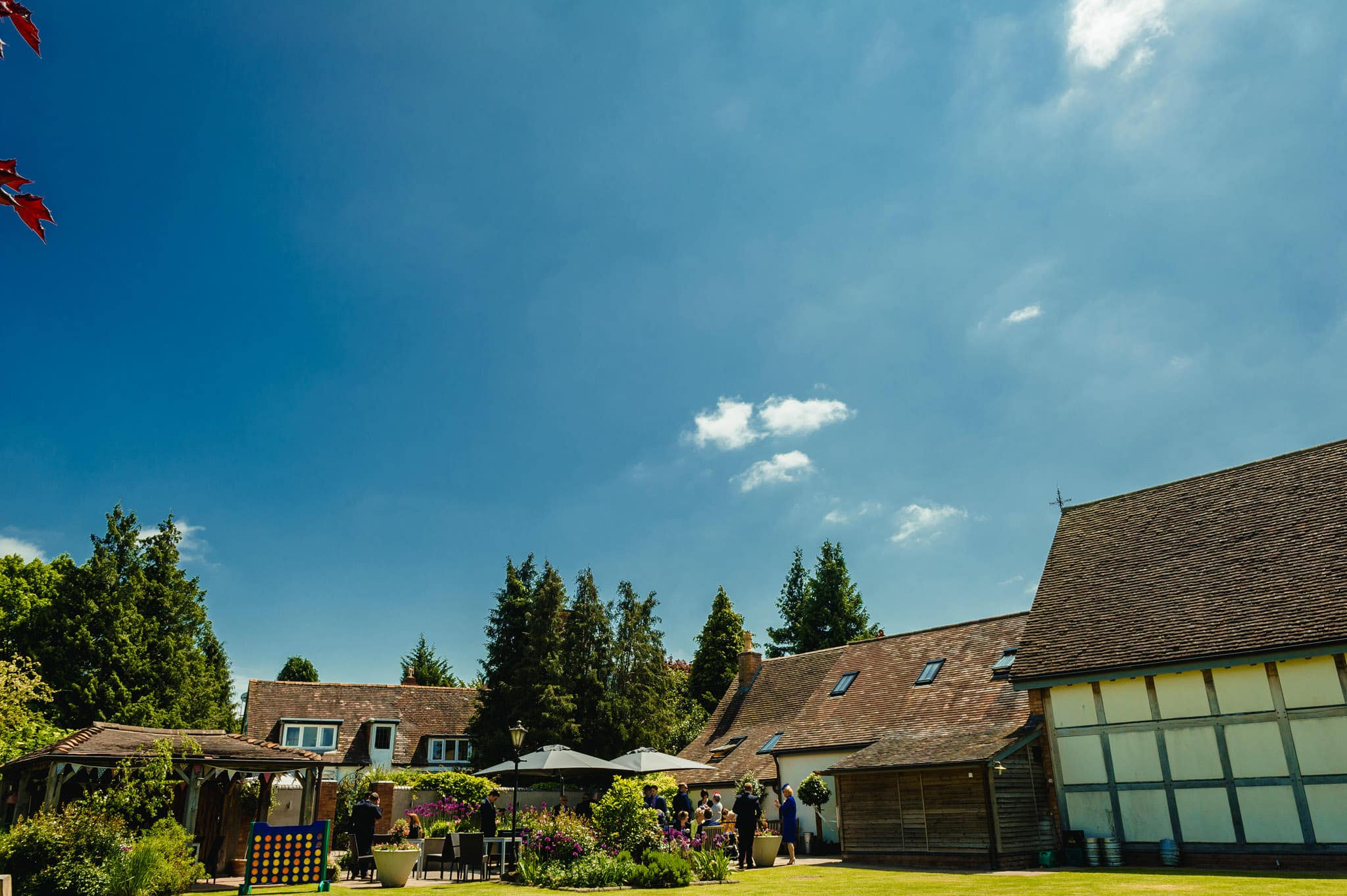 Wedding at Redhouse Barn in Stoke Prior, Worcestershire 45