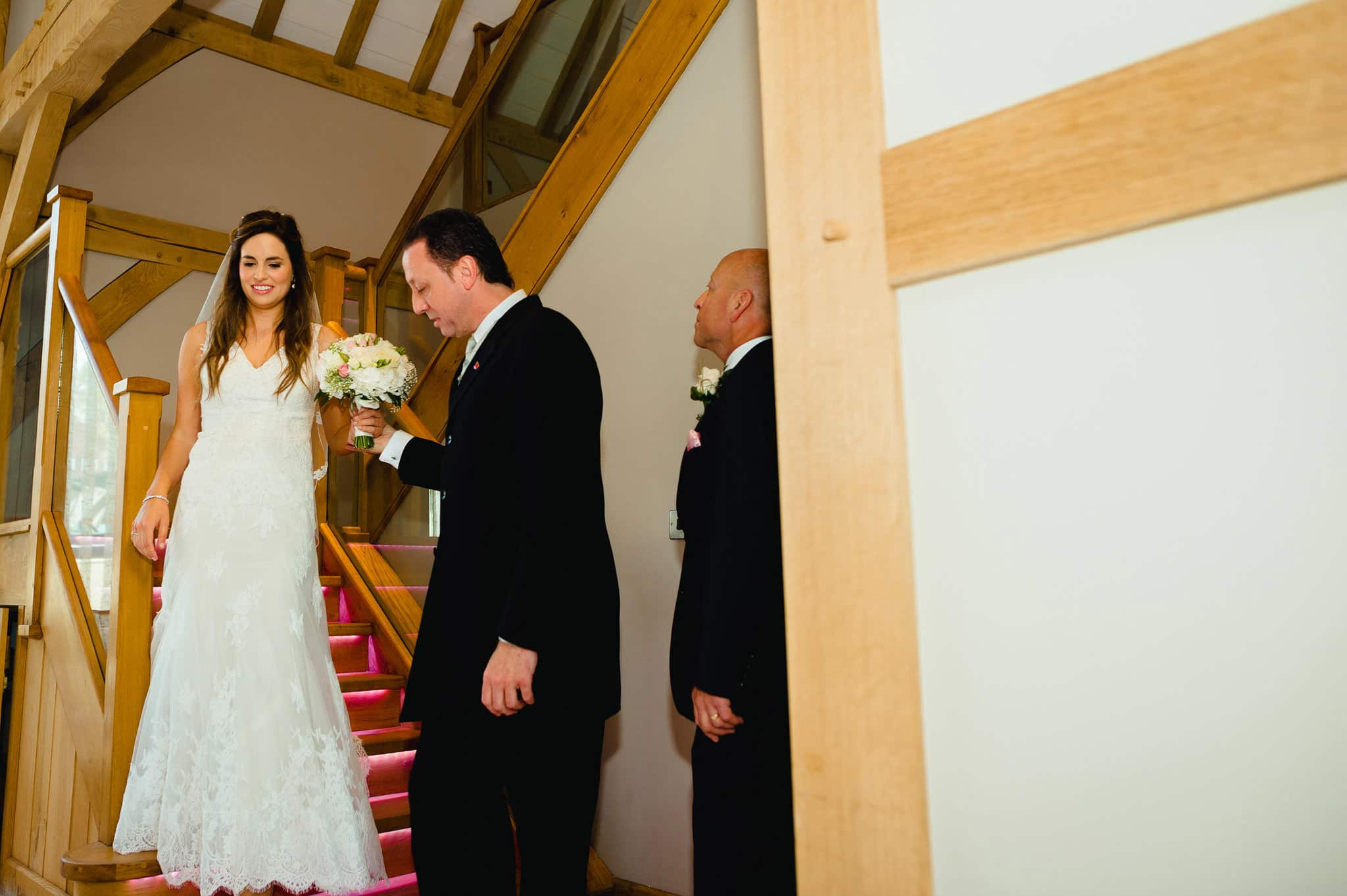 Wedding at Redhouse Barn in Stoke Prior, Worcestershire 54