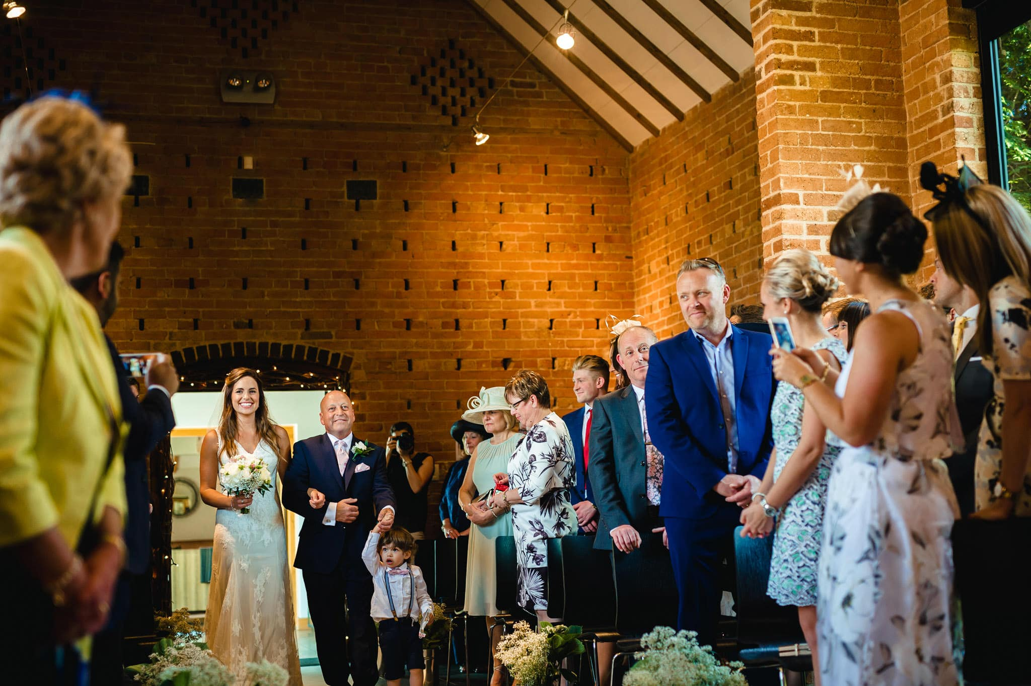 Wedding at Redhouse Barn in Stoke Prior, Worcestershire 61