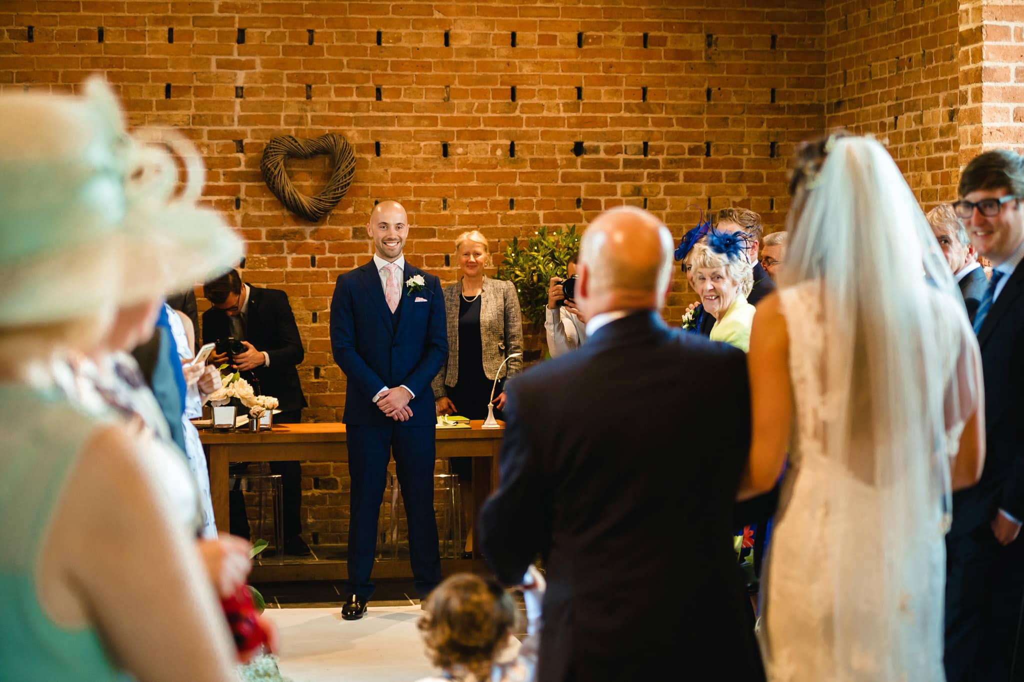 Wedding at Redhouse Barn in Stoke Prior, Worcestershire 63