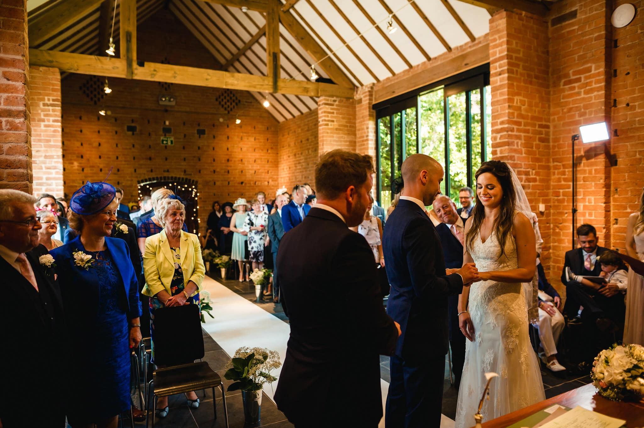 Wedding at Redhouse Barn in Stoke Prior, Worcestershire 64