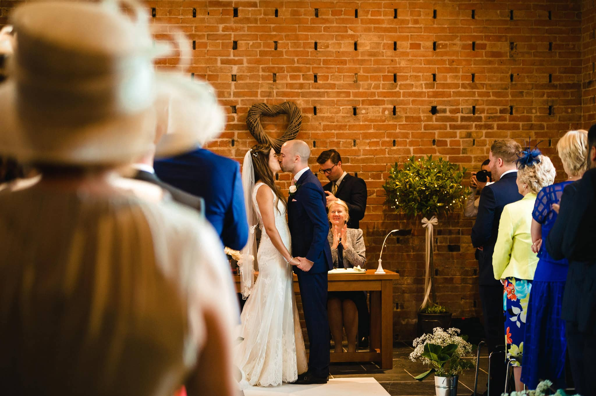 Wedding at Redhouse Barn in Stoke Prior, Worcestershire 66