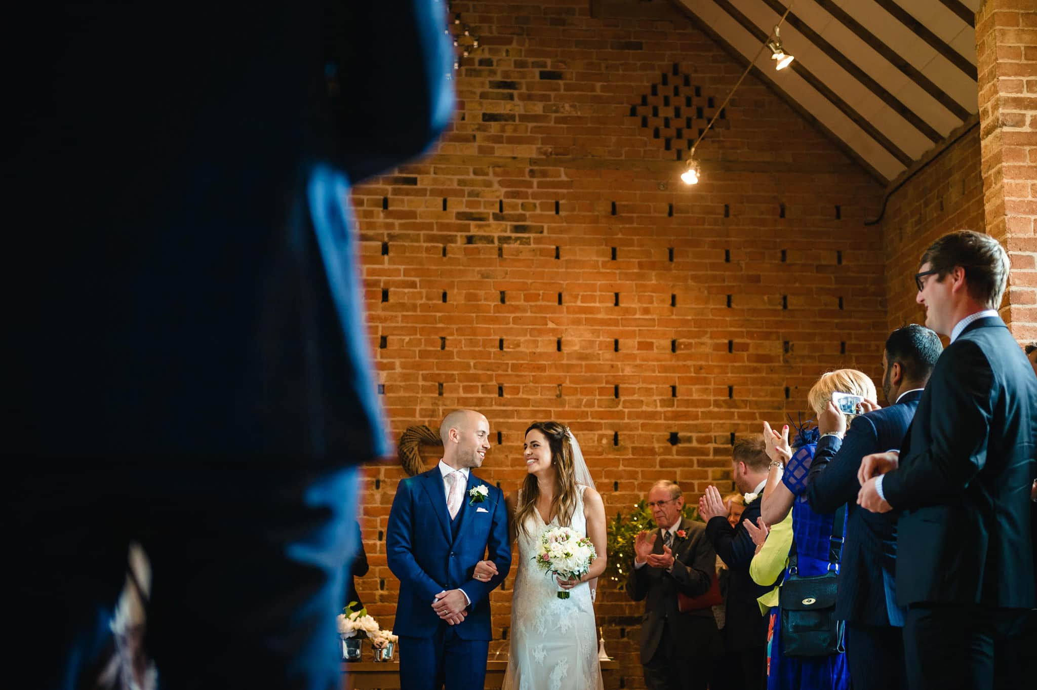 Wedding at Redhouse Barn in Stoke Prior, Worcestershire 67