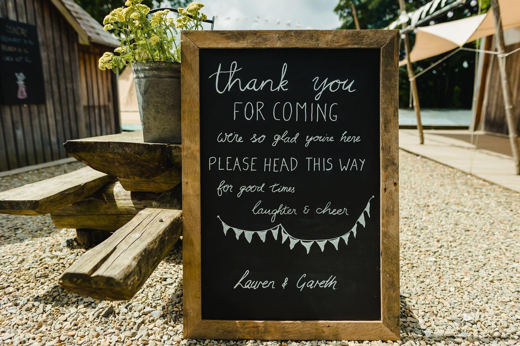 Fforest Wedding, Cardigan, Wales - Lauren and Gareth 16