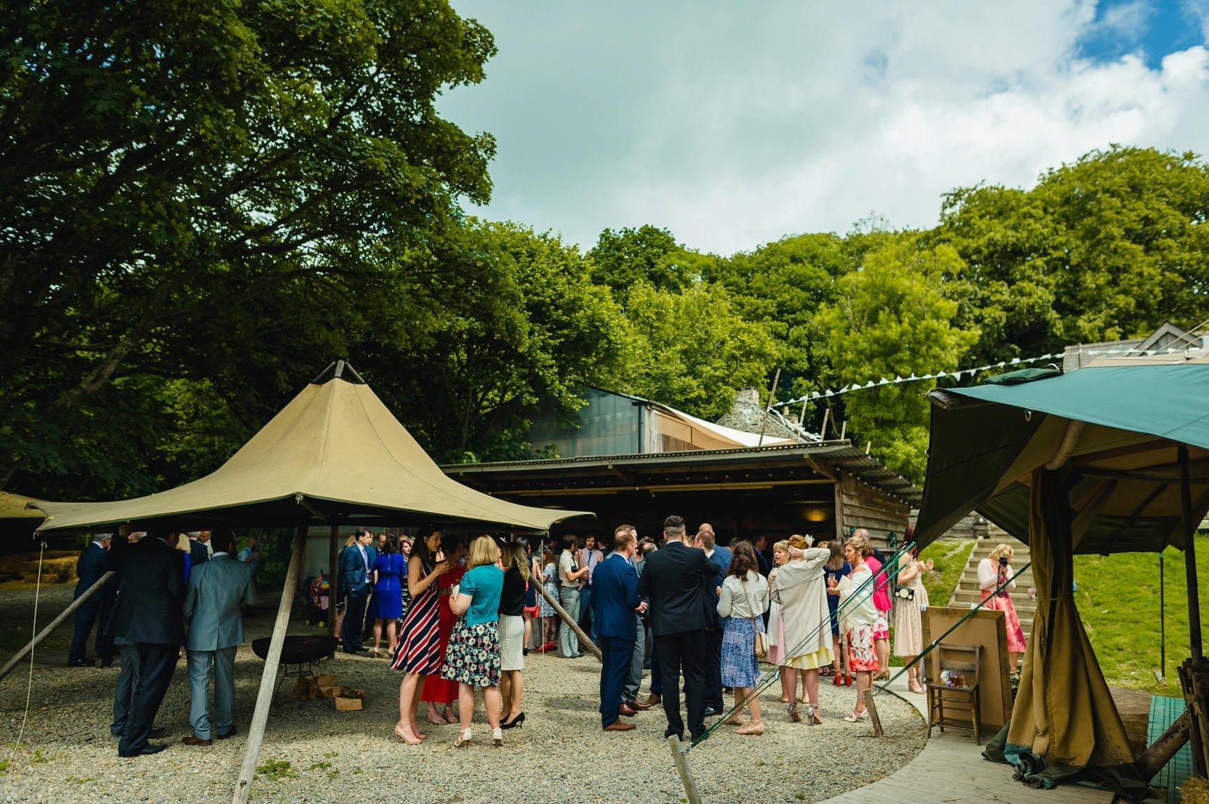 Fforest Wedding, Cardigan, Wales - Lauren and Gareth 98