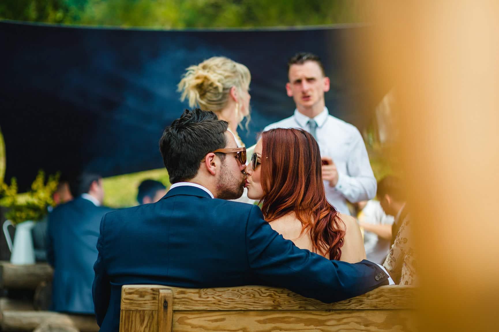 Fforest Wedding, Cardigan, Wales - Lauren and Gareth 134