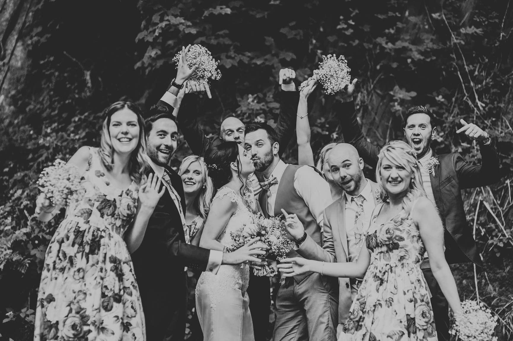 Fforest Wedding, Cardigan, Wales - Lauren and Gareth 175