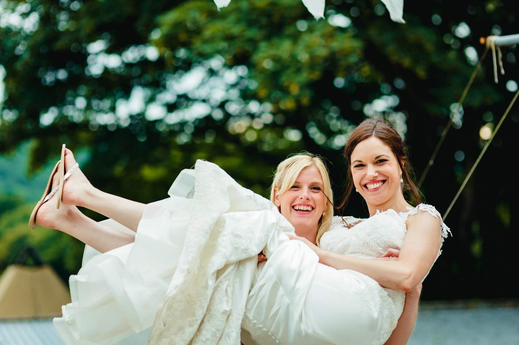 Fforest Wedding, Cardigan, Wales - Lauren and Gareth 192